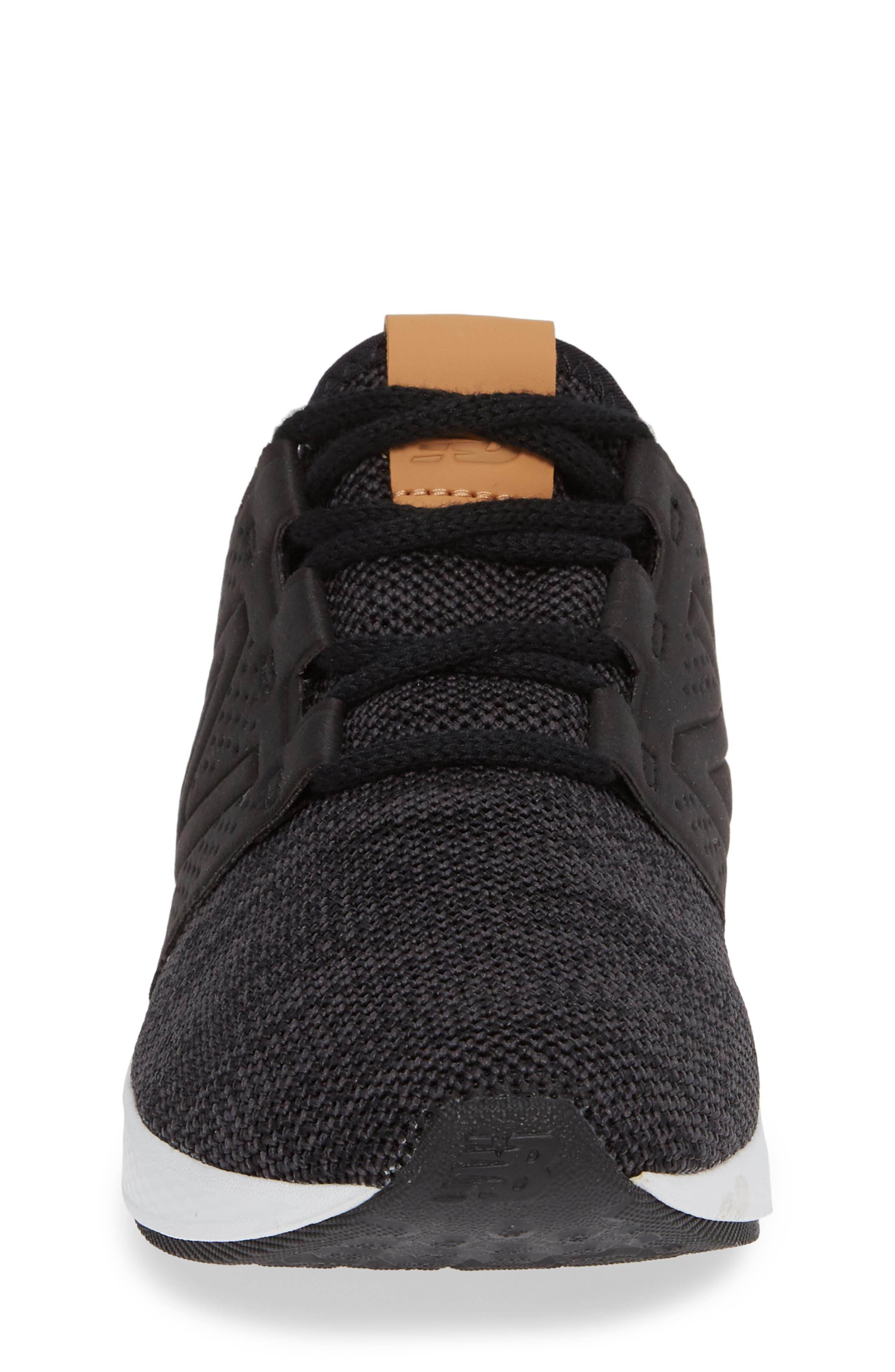 Cruz V2 Sport Sneaker,                             Alternate thumbnail 4, color,                             BLACK/ MAGNET
