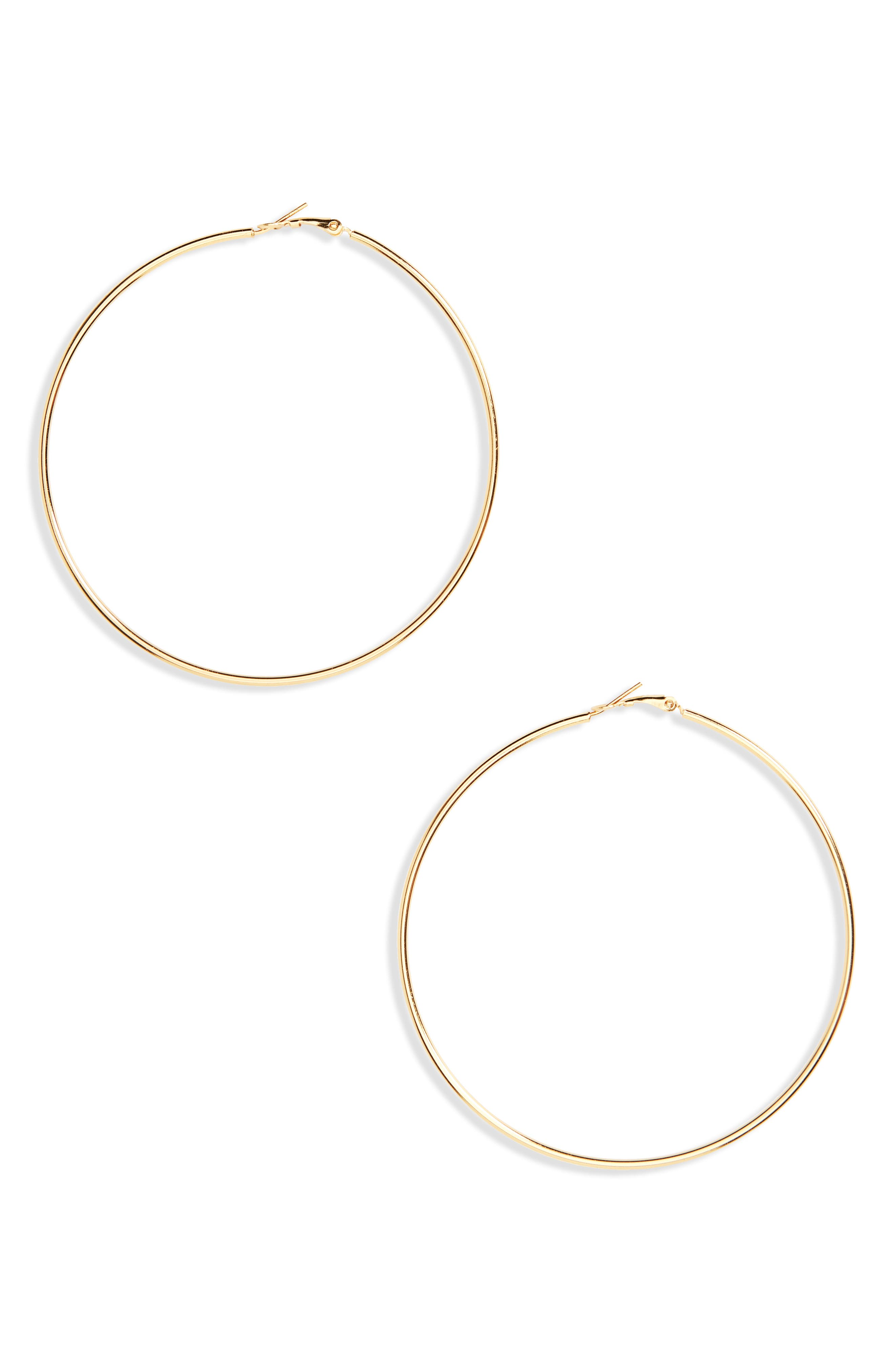Hoop Earrings,                             Main thumbnail 2, color,