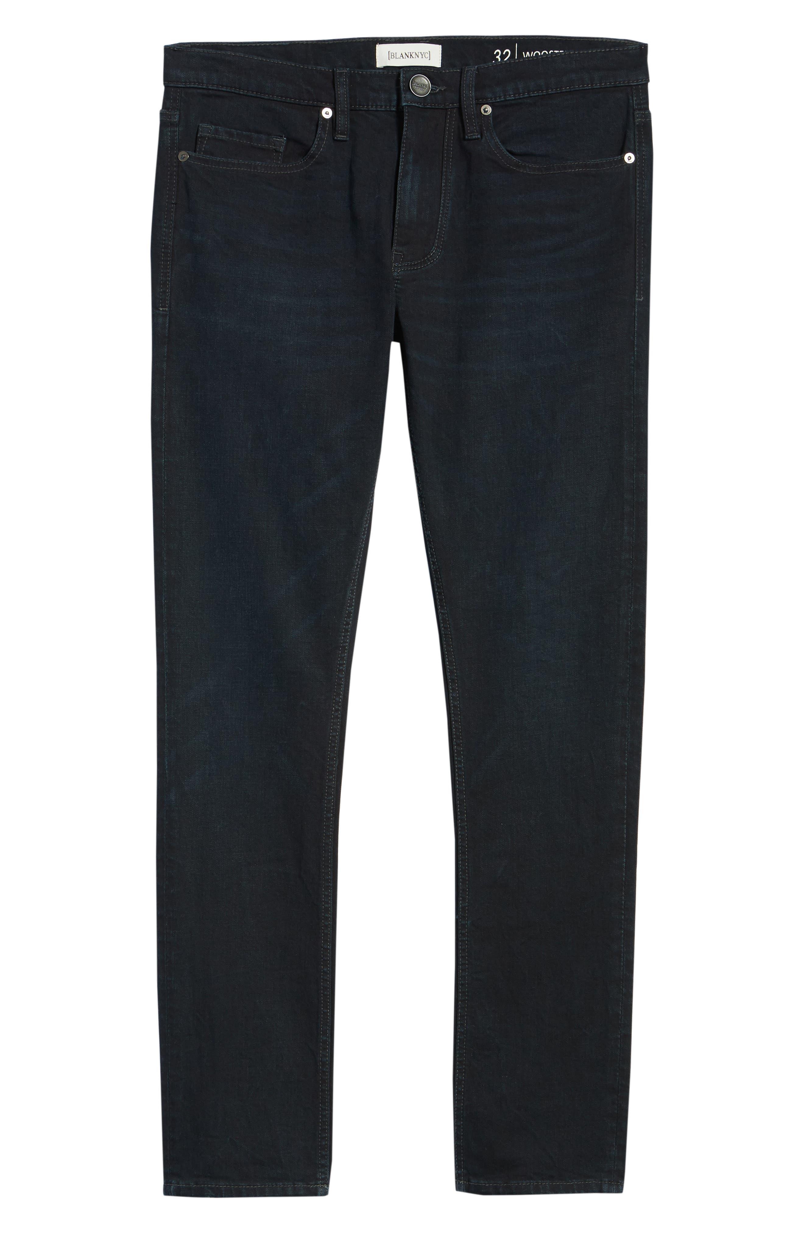 Wooster Slim Fit Jeans,                             Alternate thumbnail 6, color,                             409