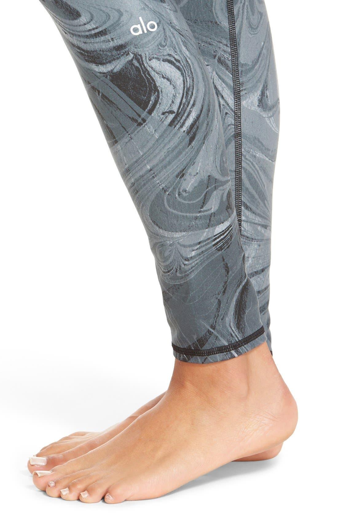 'Airbrushed' Leggings,                             Alternate thumbnail 91, color,
