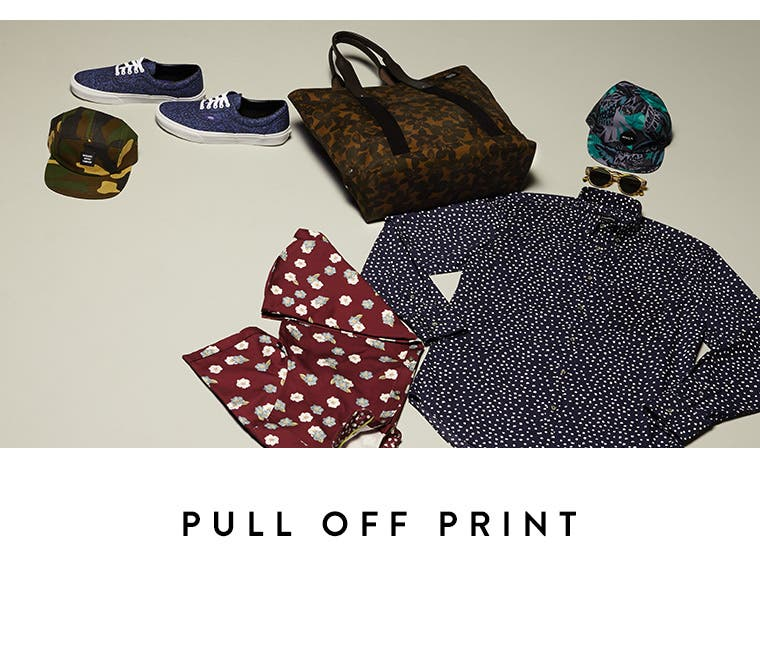 Video: Pull off print. Men's video on how to wear print.