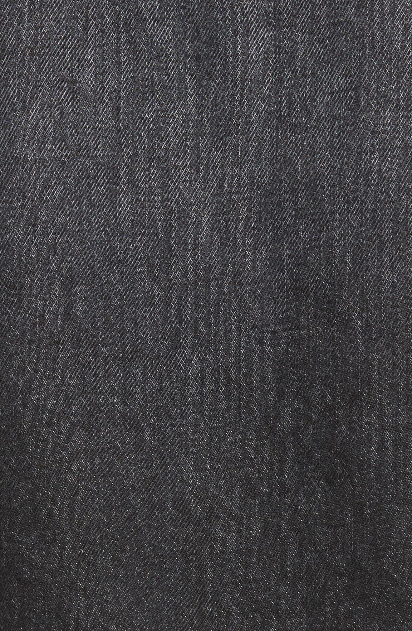 Destroyed Denim Jacket,                             Alternate thumbnail 6, color,                             021
