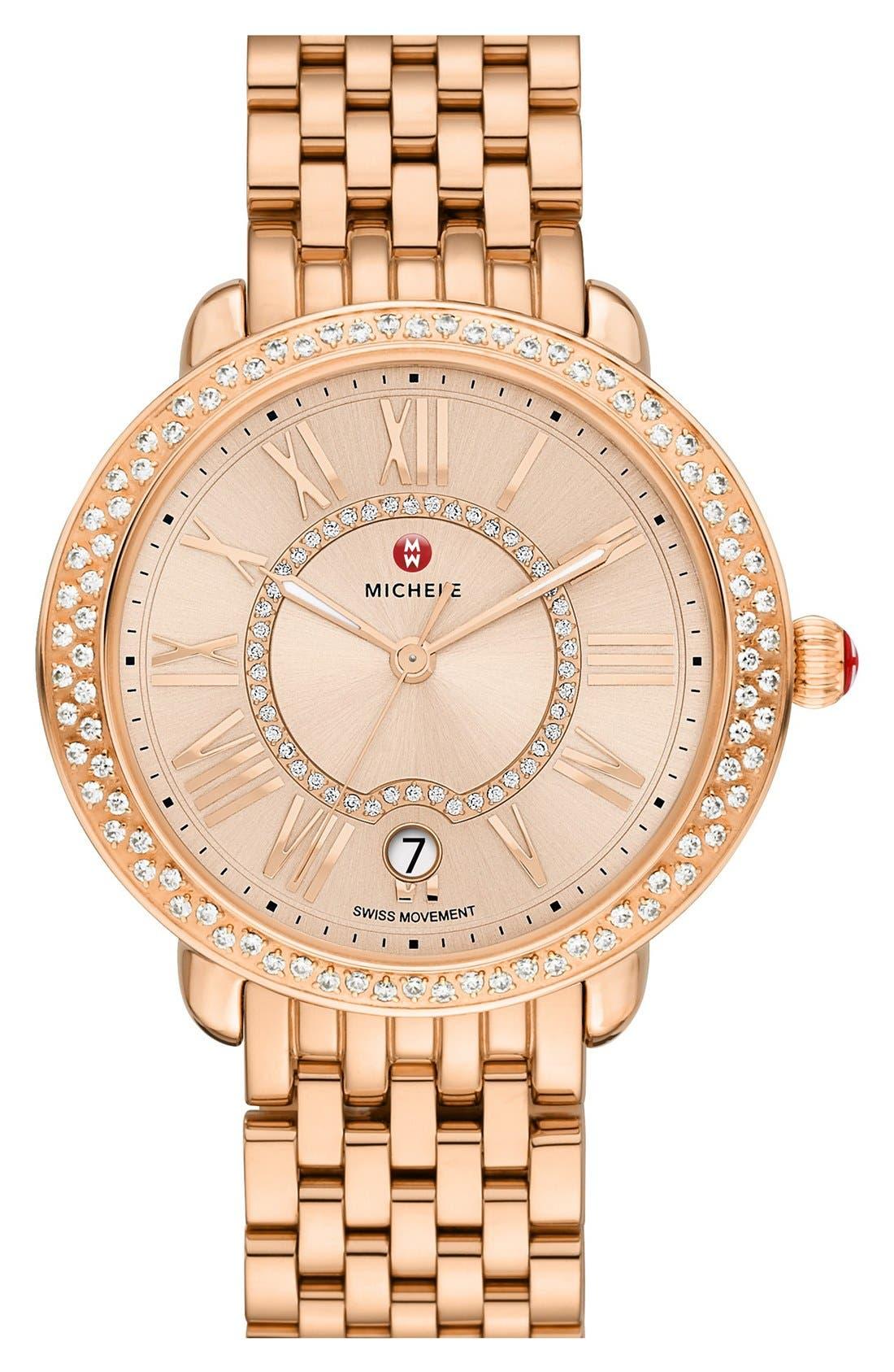 Serein 16 Diamond Watch Case, 34mm x 36mm,                             Alternate thumbnail 10, color,