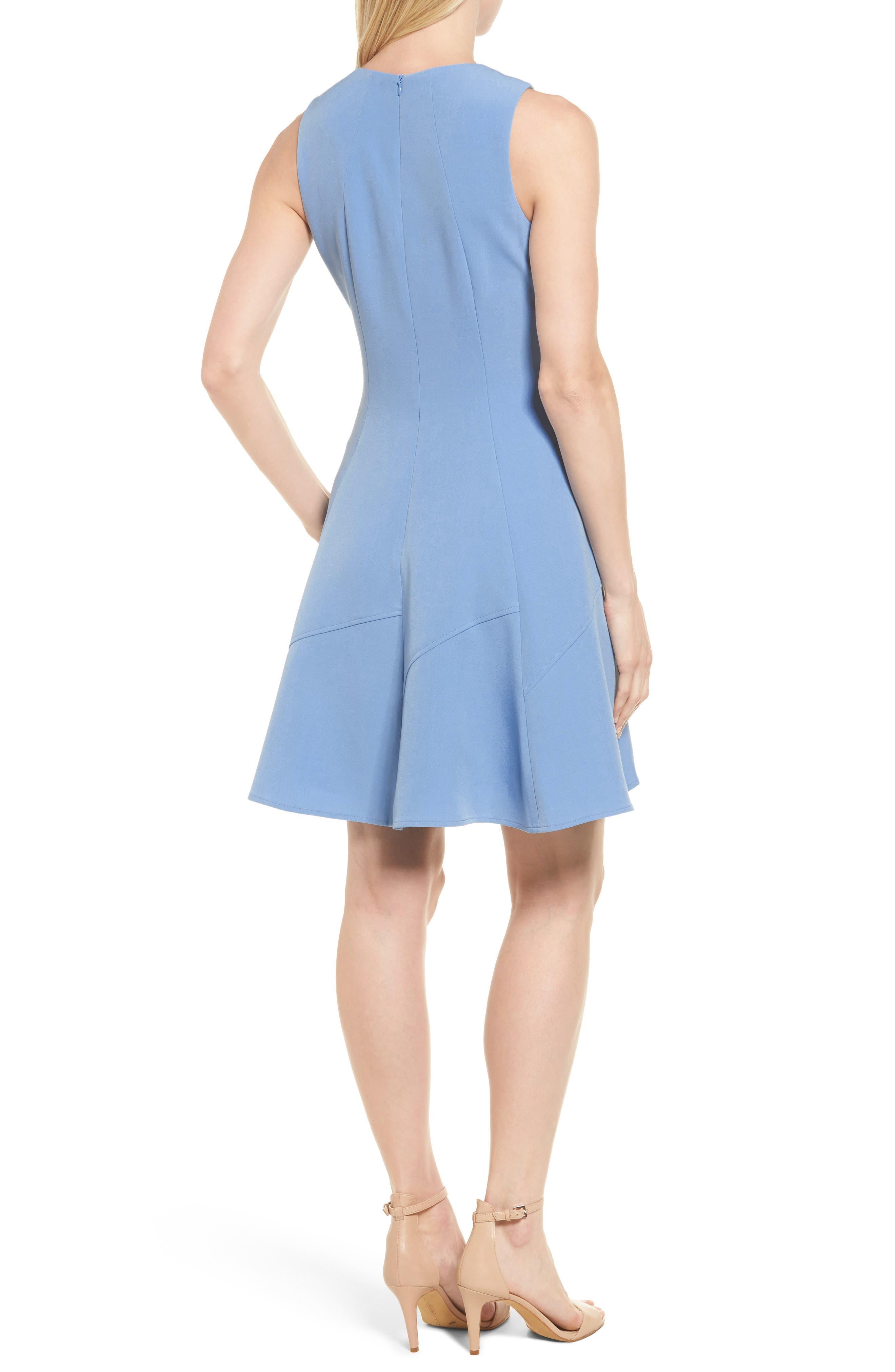 Fit & Flare Dress,                             Alternate thumbnail 2, color,                             430