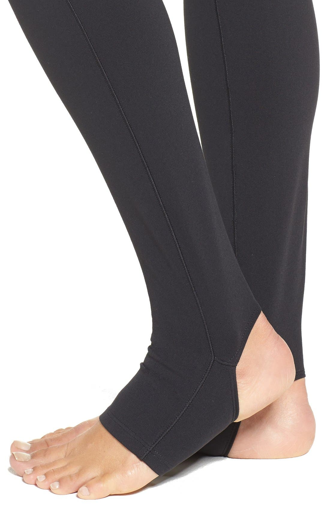 Foiled Stirrup Tights,                             Alternate thumbnail 4, color,                             001