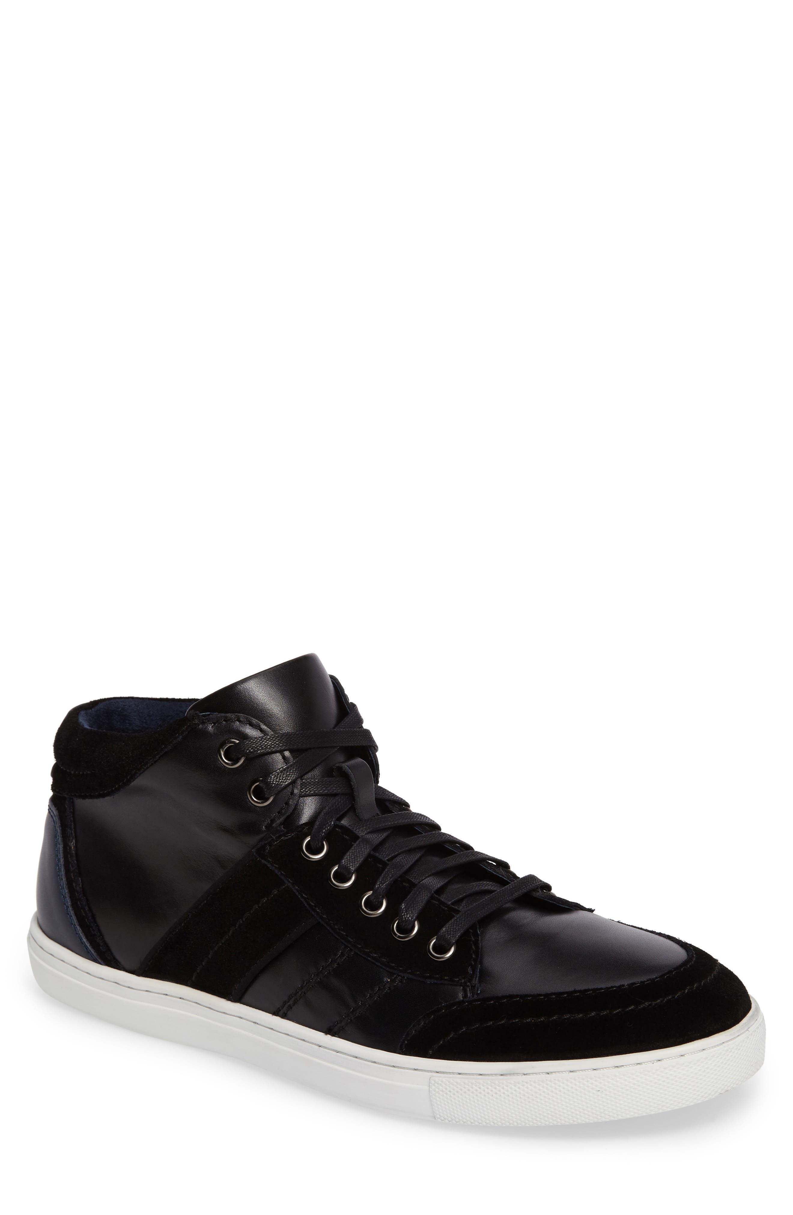 Viper Sneaker,                             Main thumbnail 1, color,                             BLACK