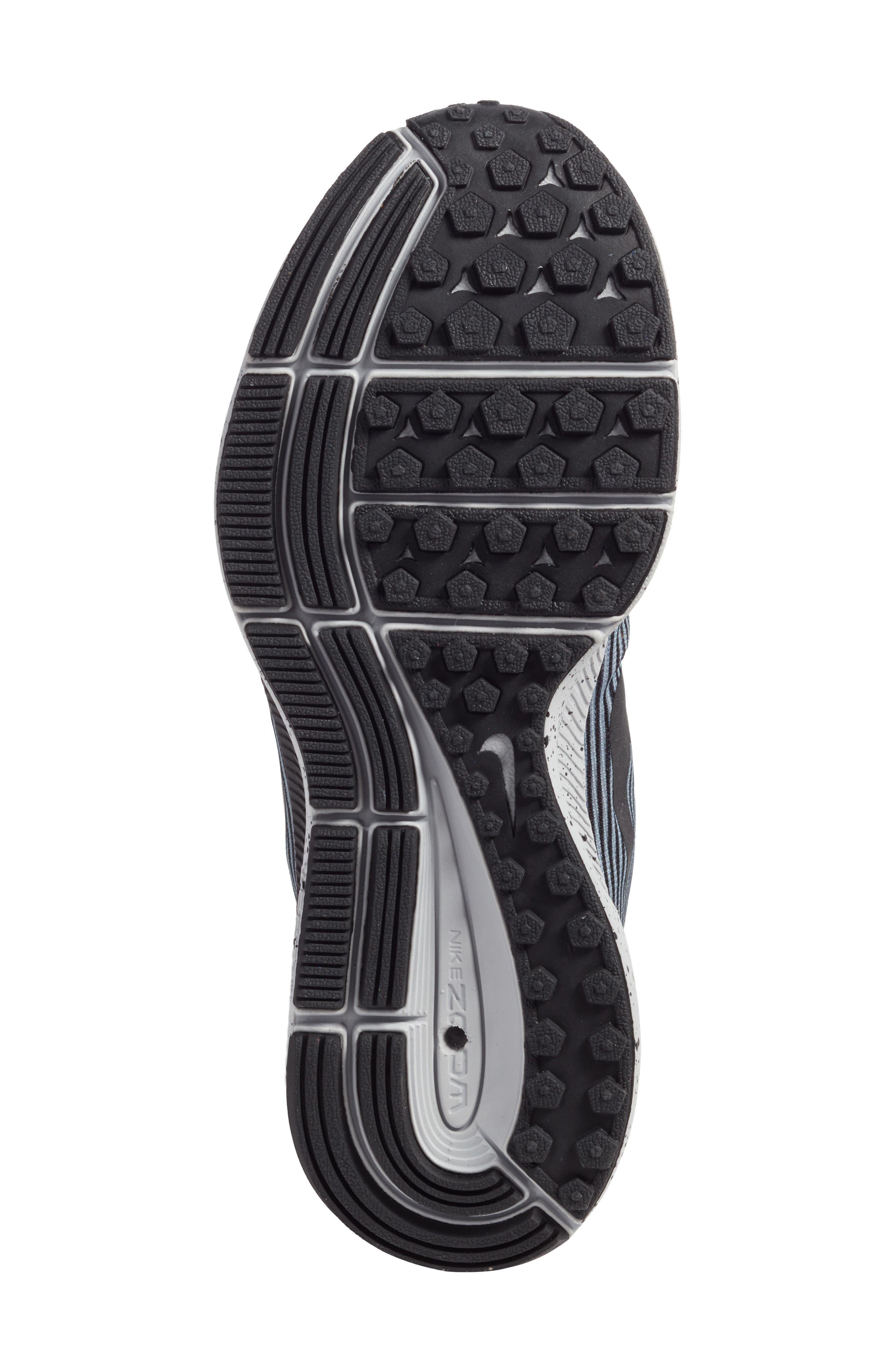 Zoom Pegasus 34 Water Repellent Shield Sneaker,                             Alternate thumbnail 6, color,                             001