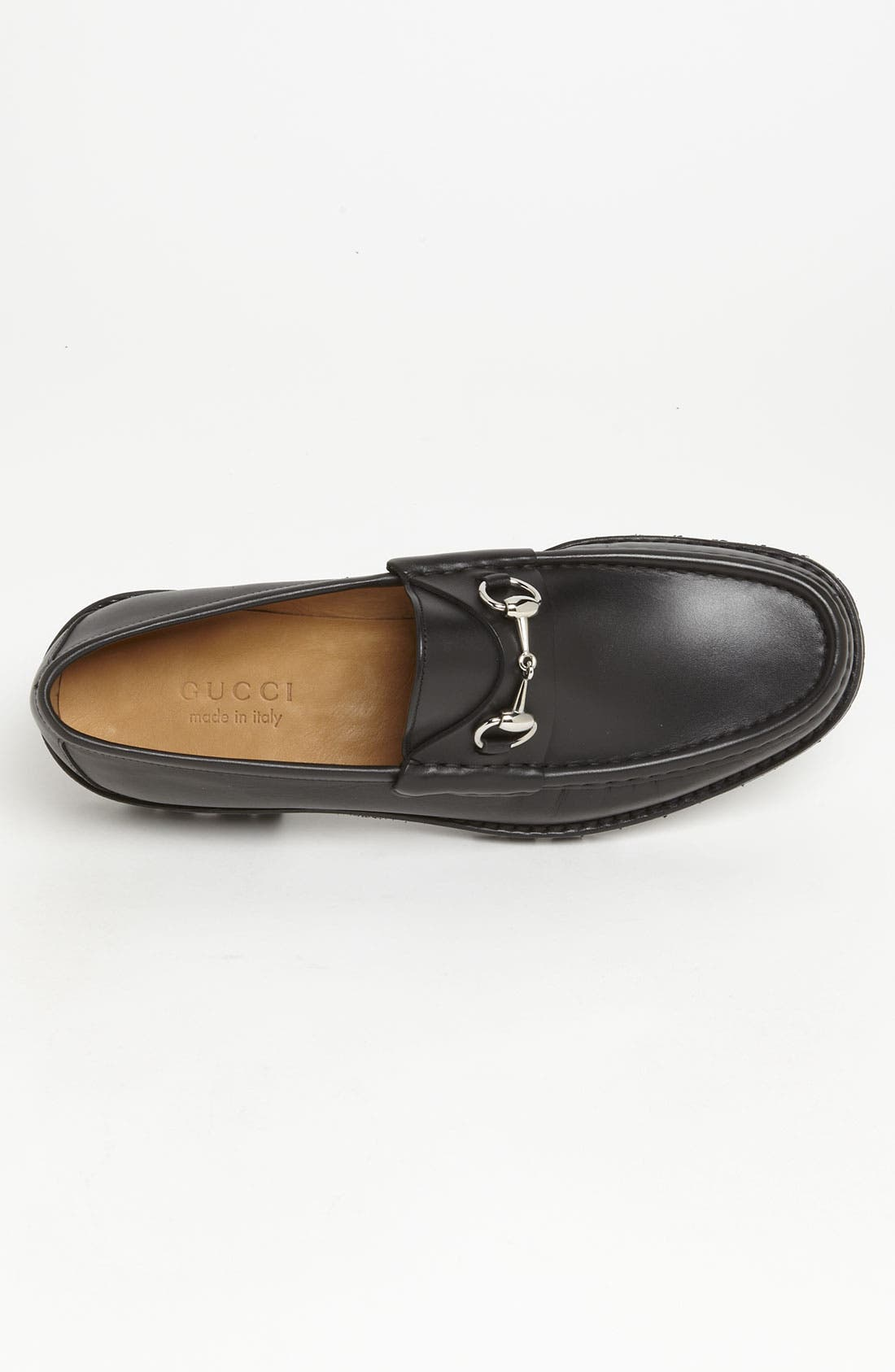Classic Lug Sole Moccasin,                             Alternate thumbnail 7, color,                             1000 BLACK