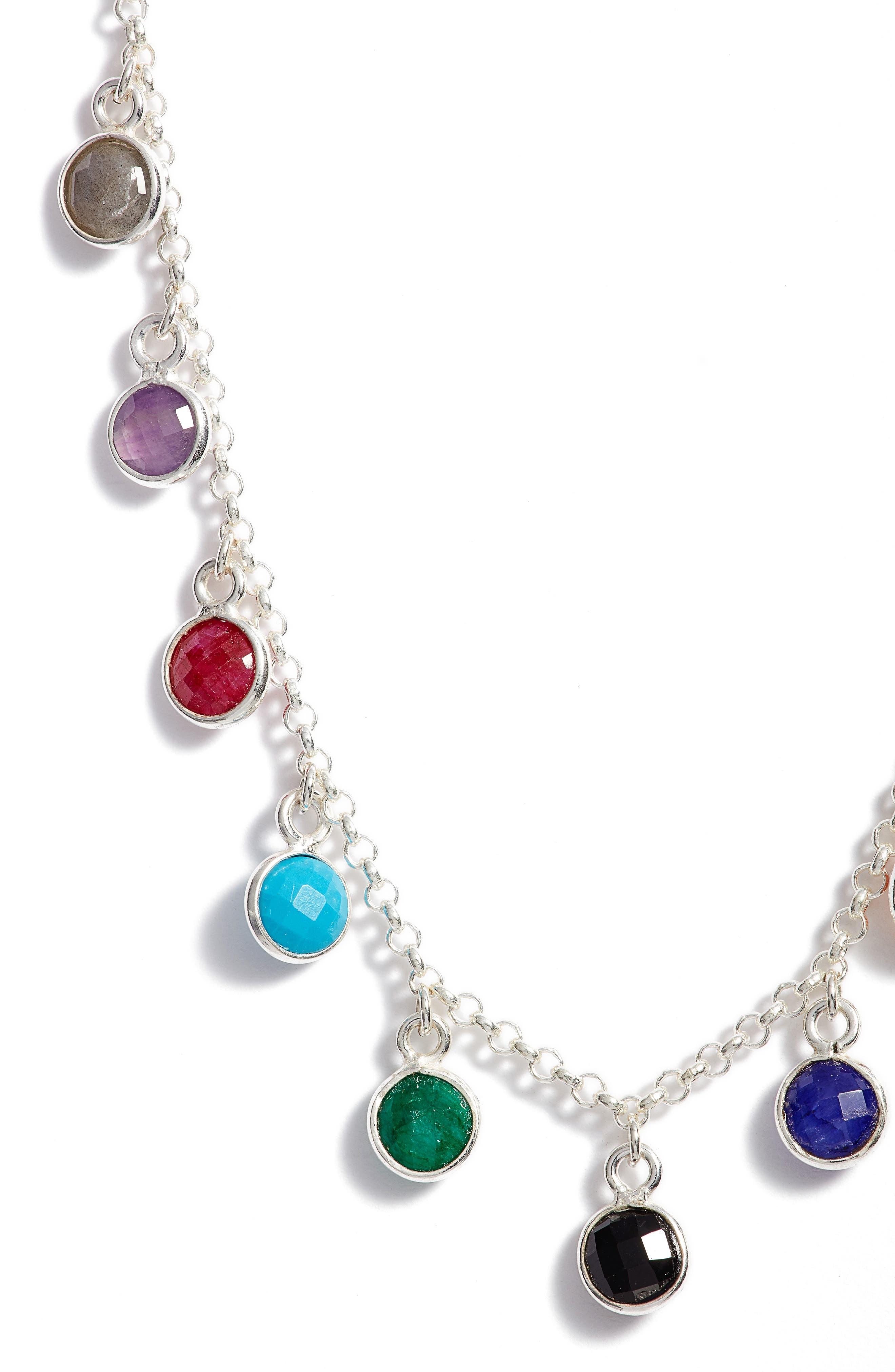 Seek It All Pendant Necklace,                             Alternate thumbnail 3, color,                             040