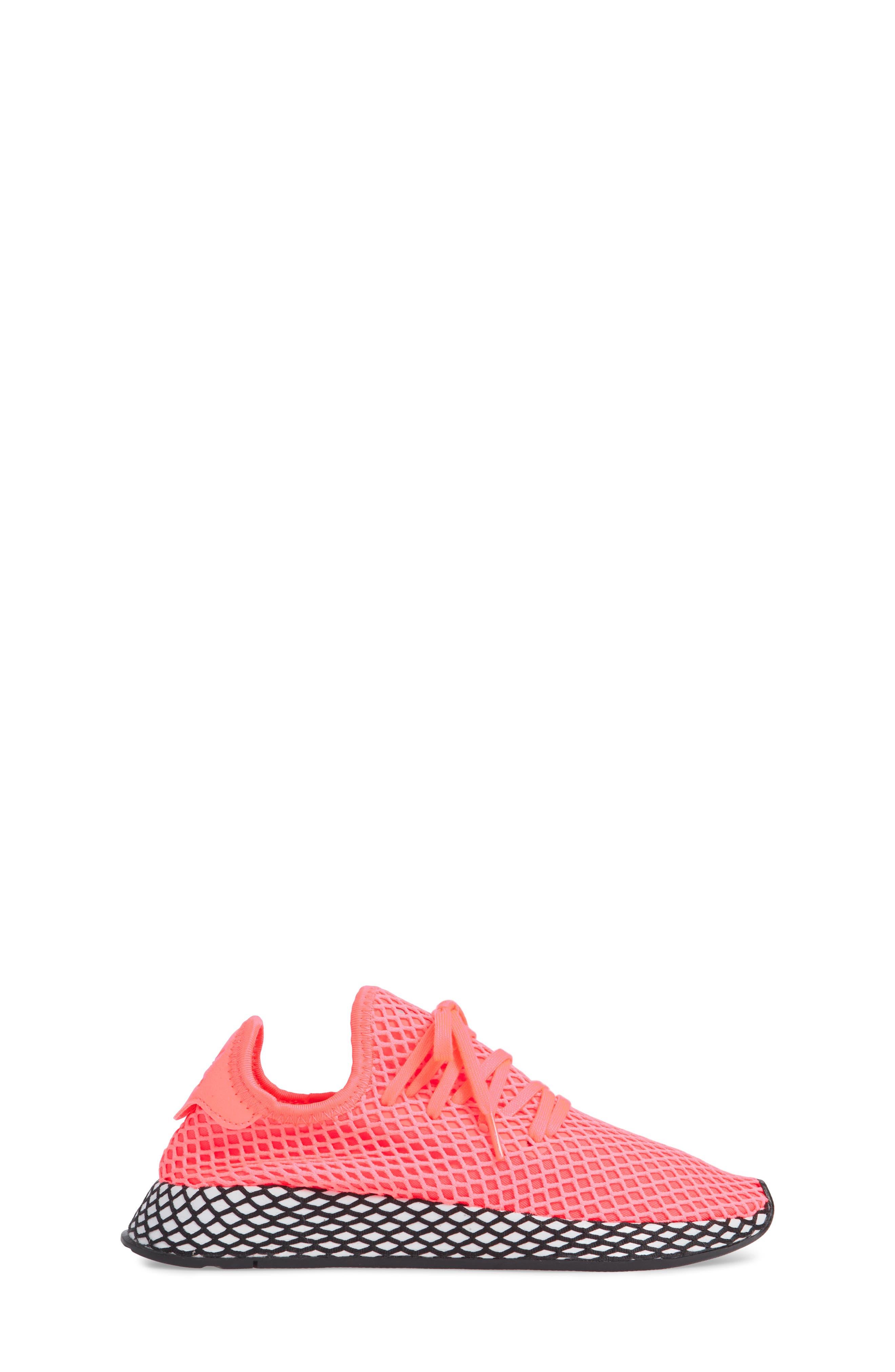 Deerupt Runner Sneaker,                             Alternate thumbnail 3, color,                             TURBO/ TURBO/ BLACK