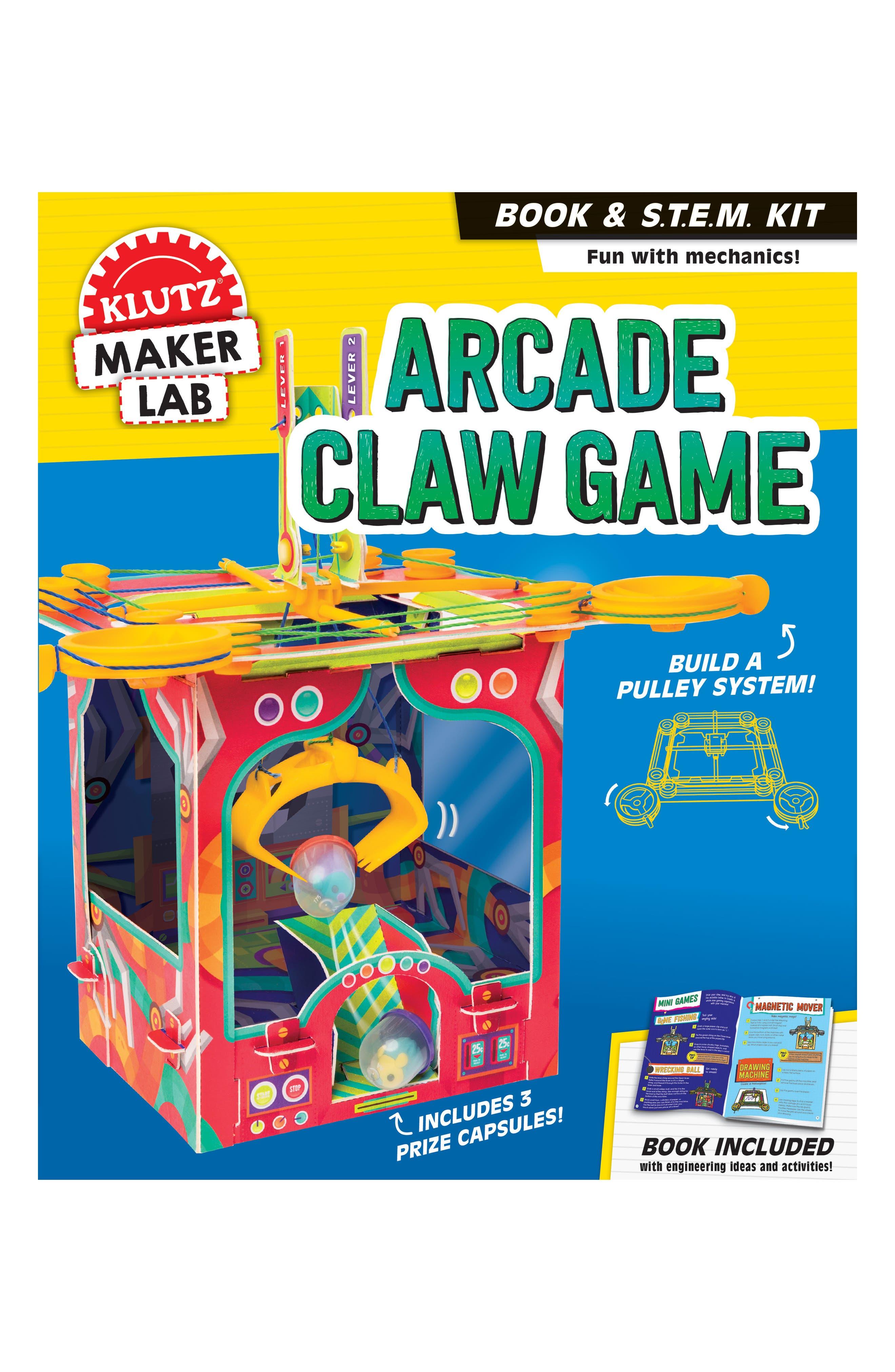 Boys Klutz Maker Lab Arcade Claw Game