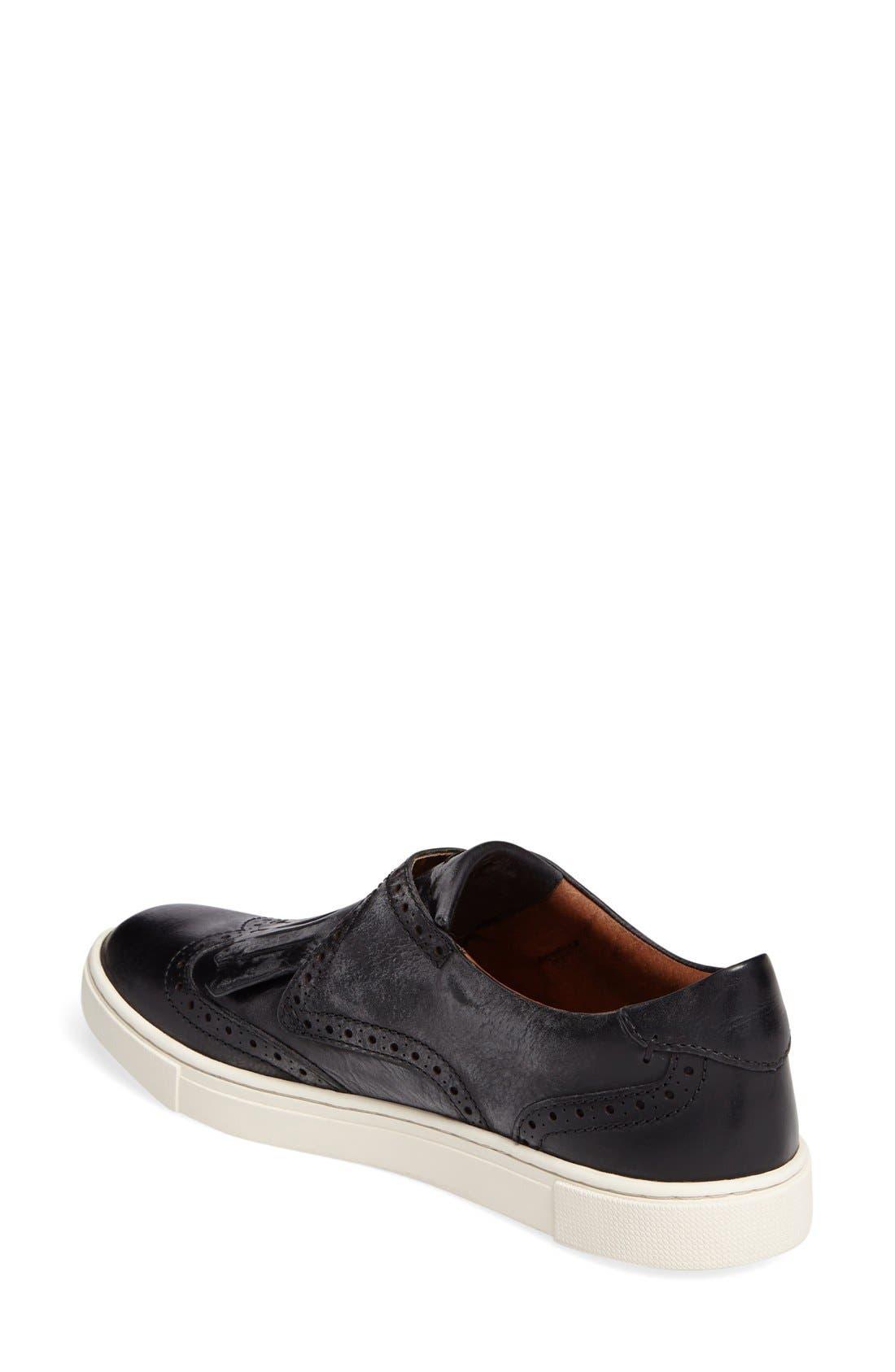 'Gemma' Kiltie Slip On-Sneaker,                             Alternate thumbnail 19, color,