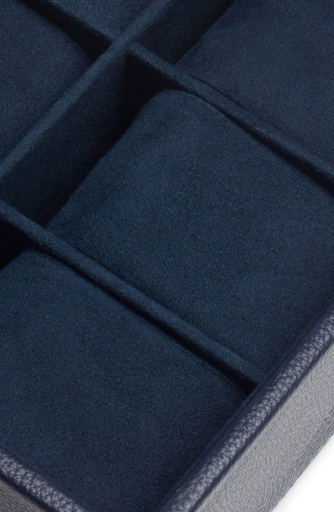 Stackable Watch Case,                             Alternate thumbnail 3, color,                             NAVY
