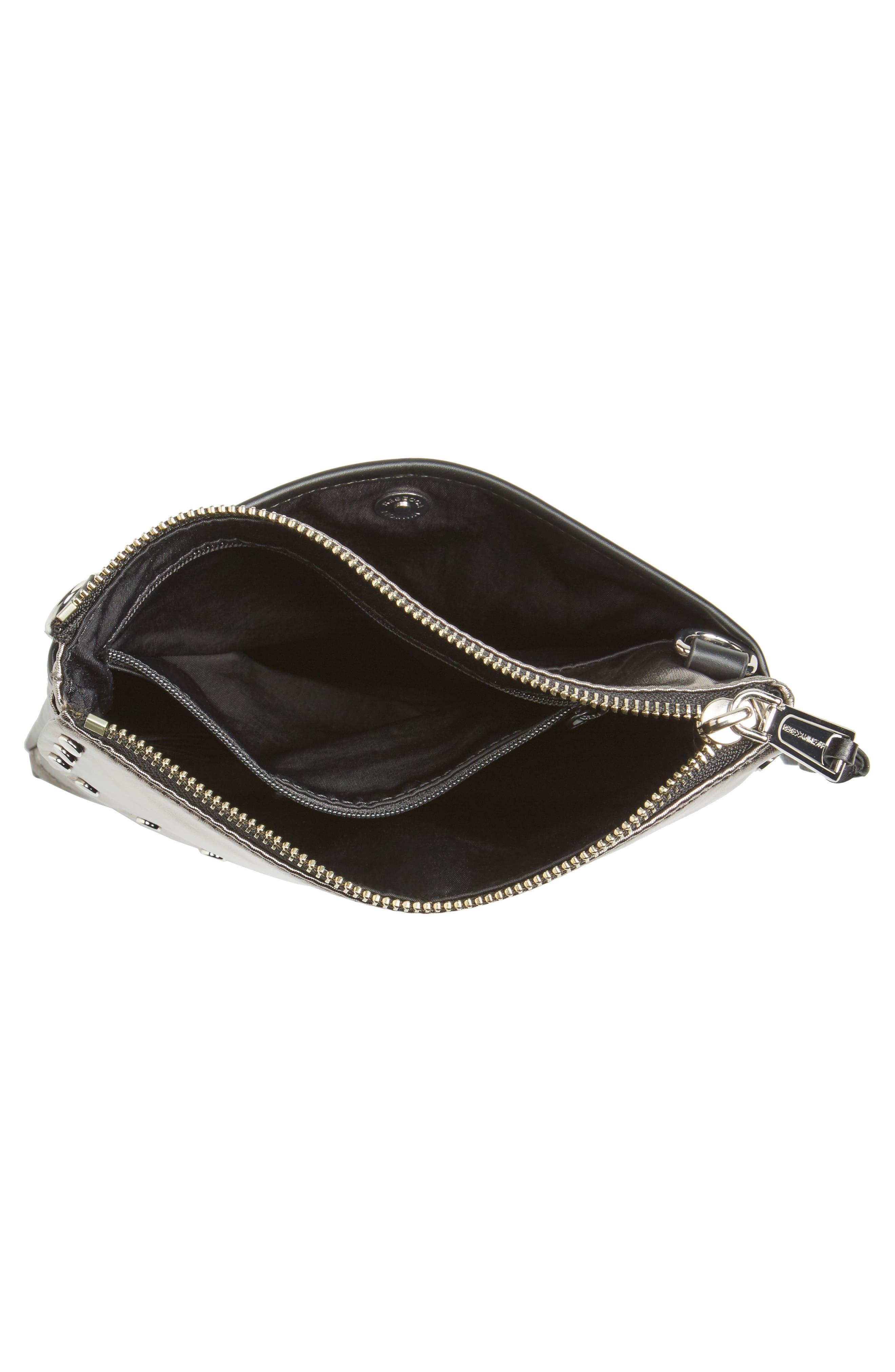 Nylon Flap Crossbody Bag,                             Alternate thumbnail 21, color,