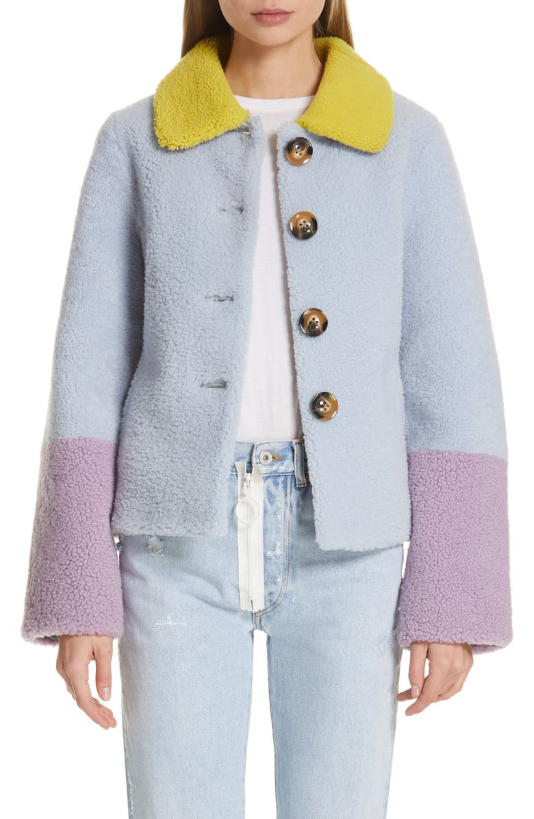 Saks Potts LUCIA GENUINE SHEARLING JACKET