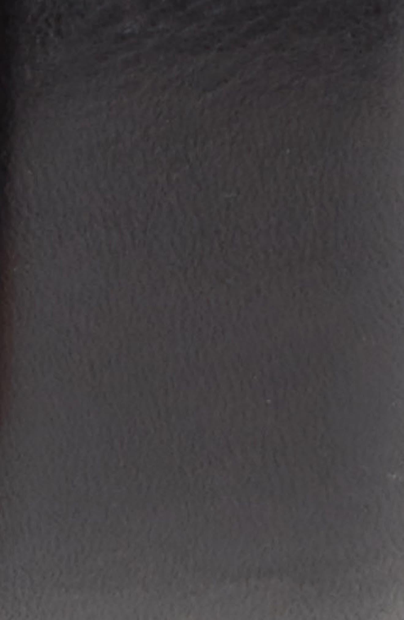 Parker Leather Belt,                             Alternate thumbnail 2, color,                             001