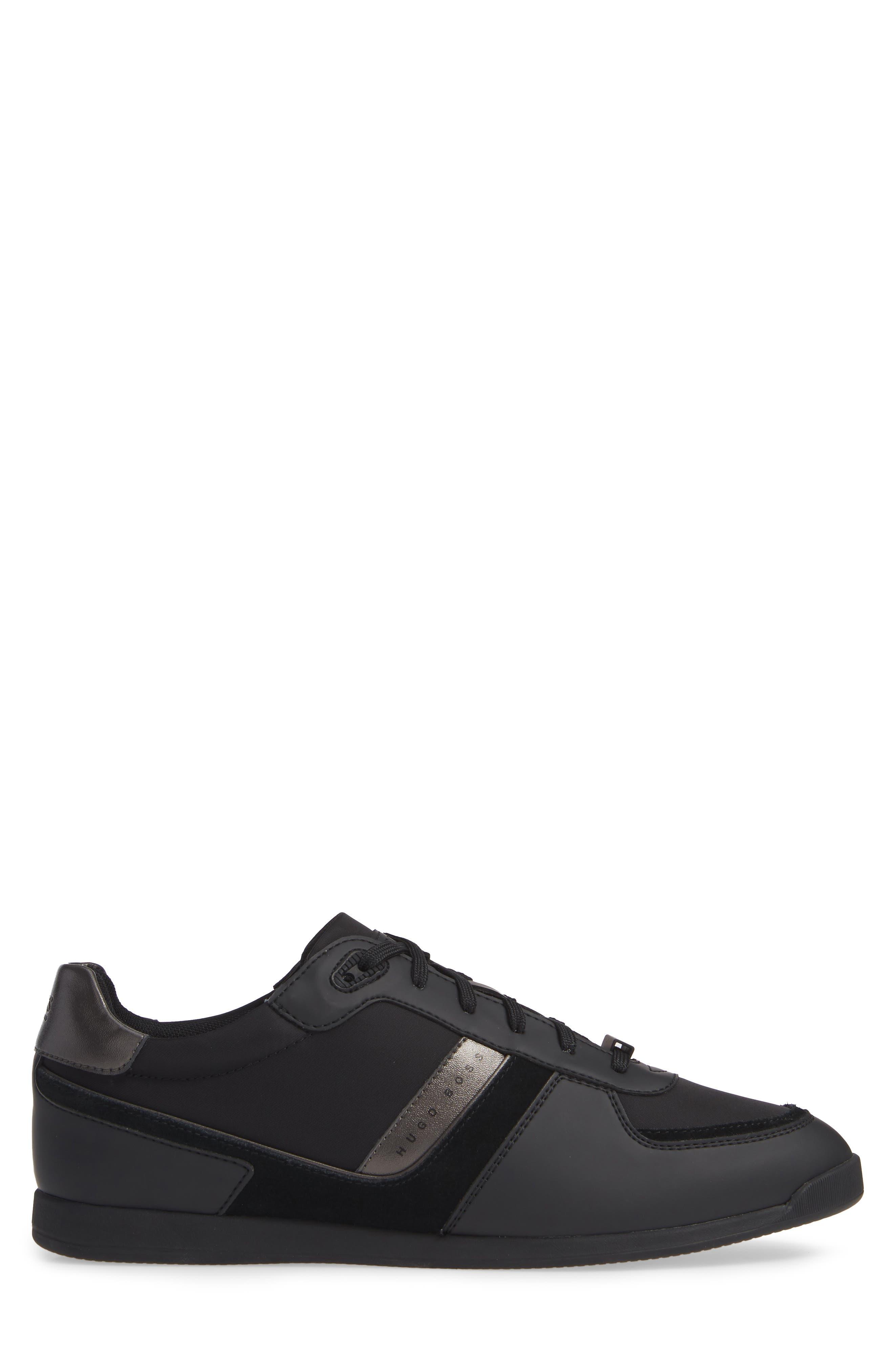 Maze Sneaker,                             Alternate thumbnail 3, color,                             BLACK