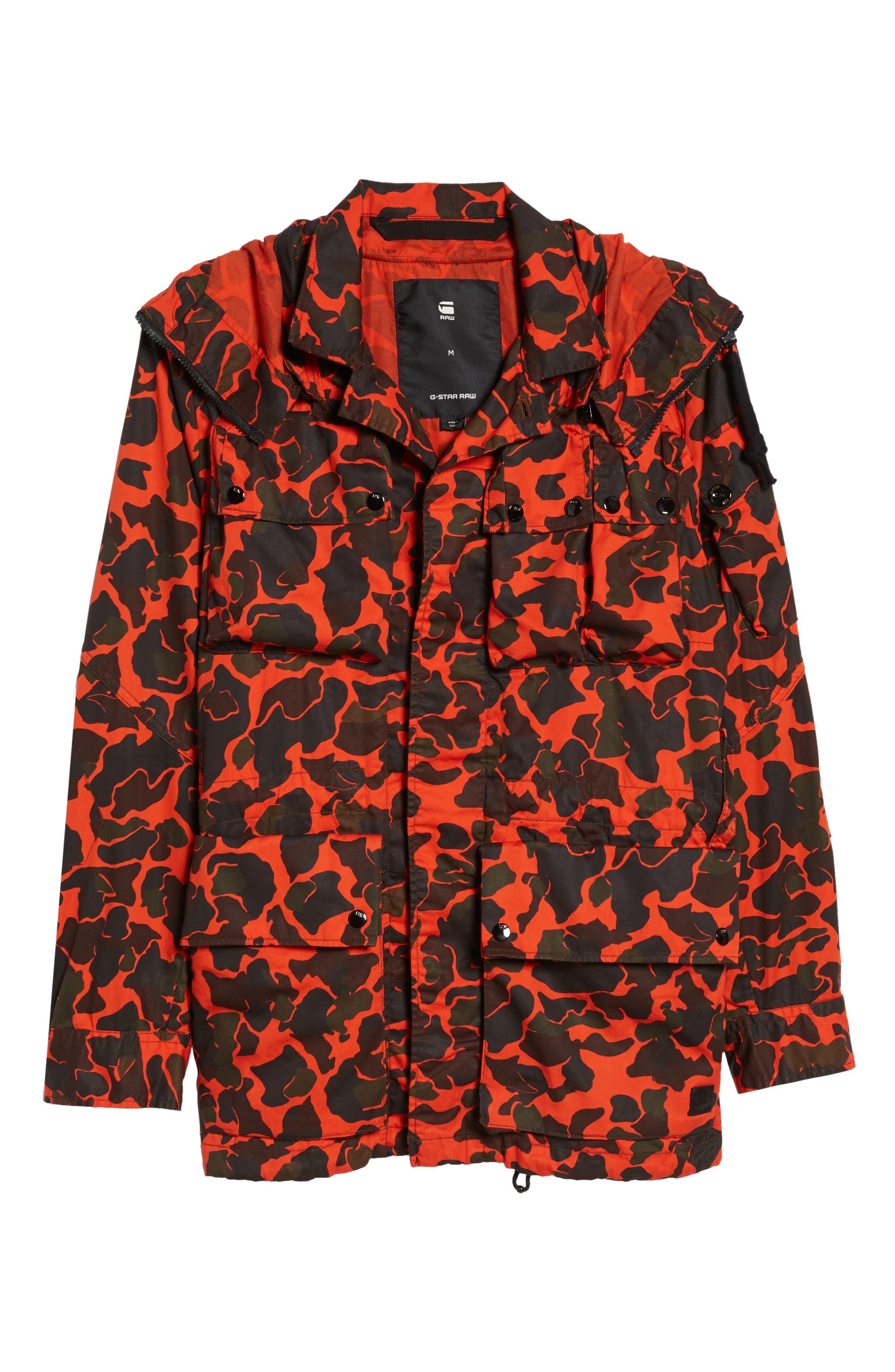 Ospak Submarine Hooded Jacket,                             Alternate thumbnail 5, color,                             800