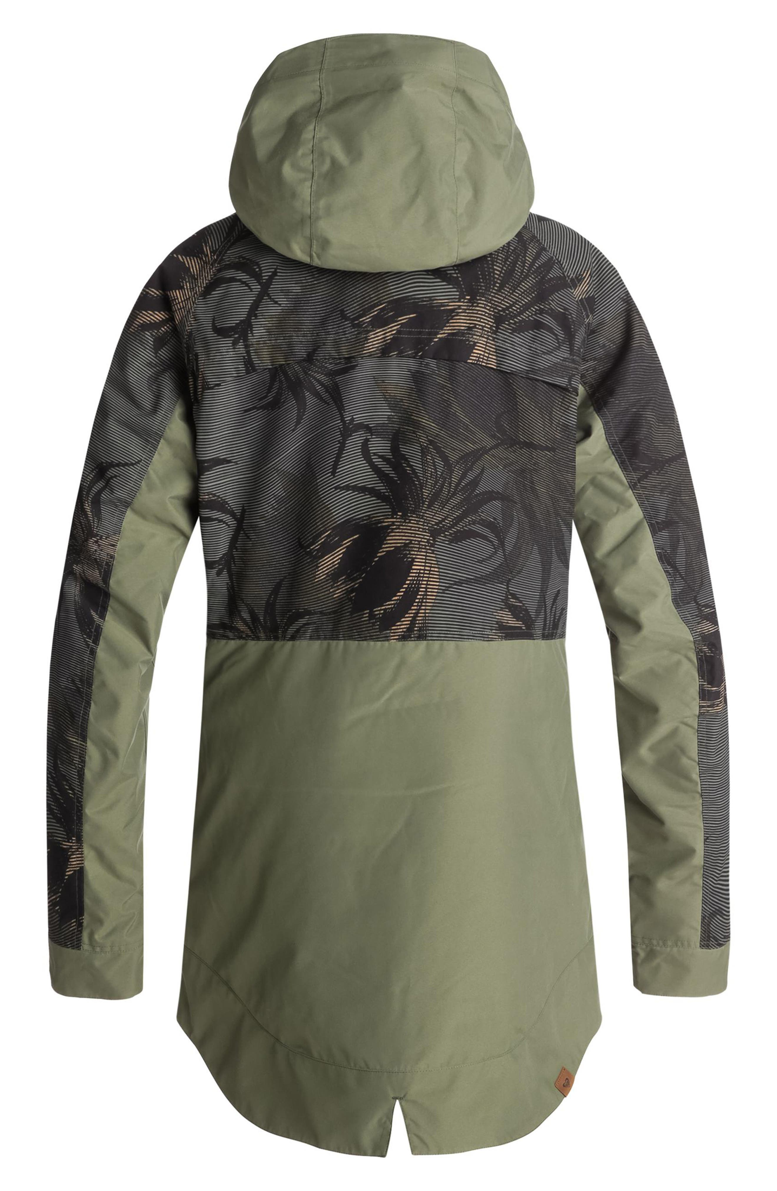 Waterproof DryFlight<sup>®</sup> Thinsulate<sup>®</sup> Insulated Snow Jacket,                             Alternate thumbnail 2, color,                             FOUR LEAF CLOVER-SWELL FLOWERS