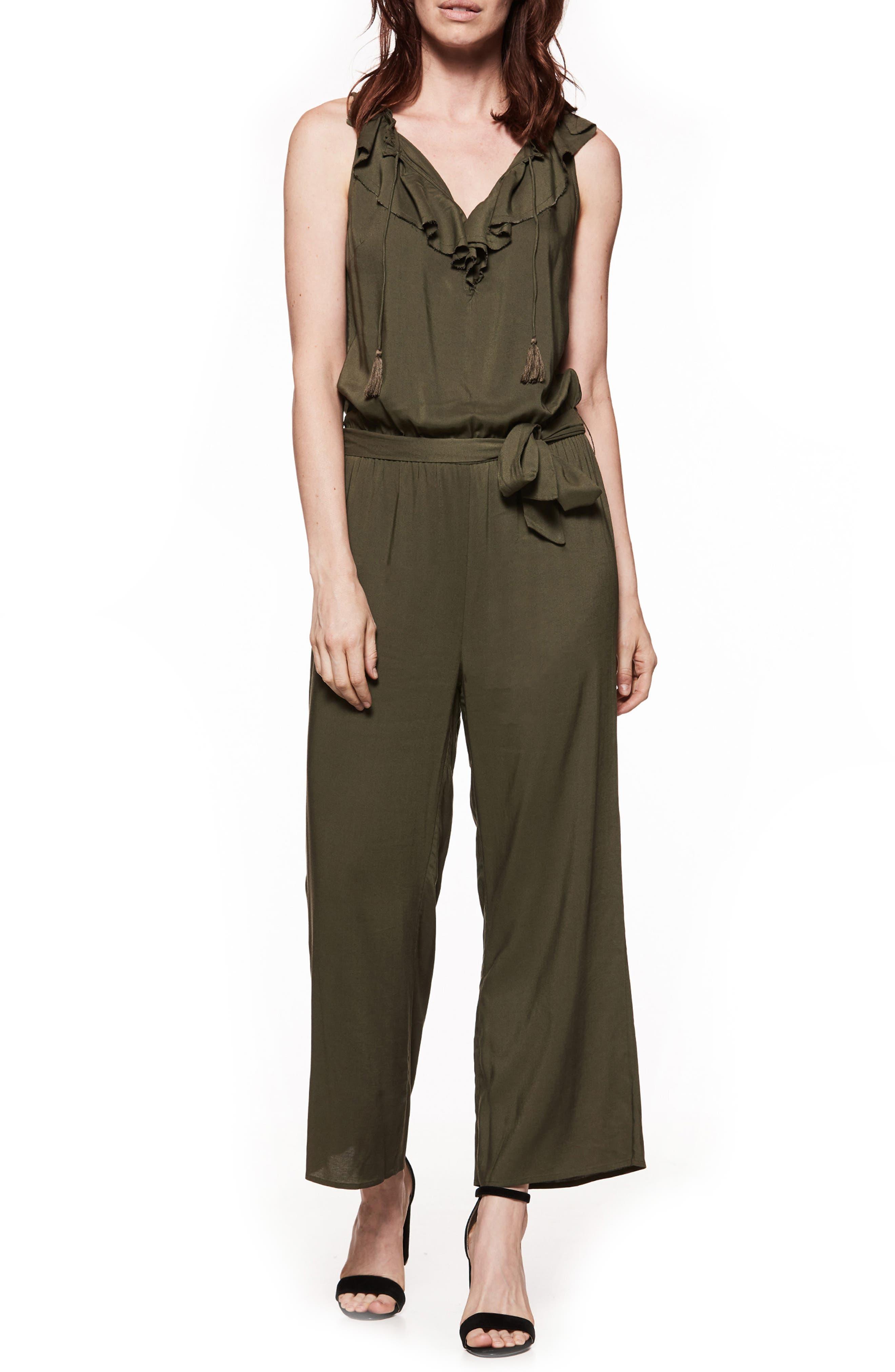 Paletta Tie-Waist Jumpsuit,                         Main,                         color,