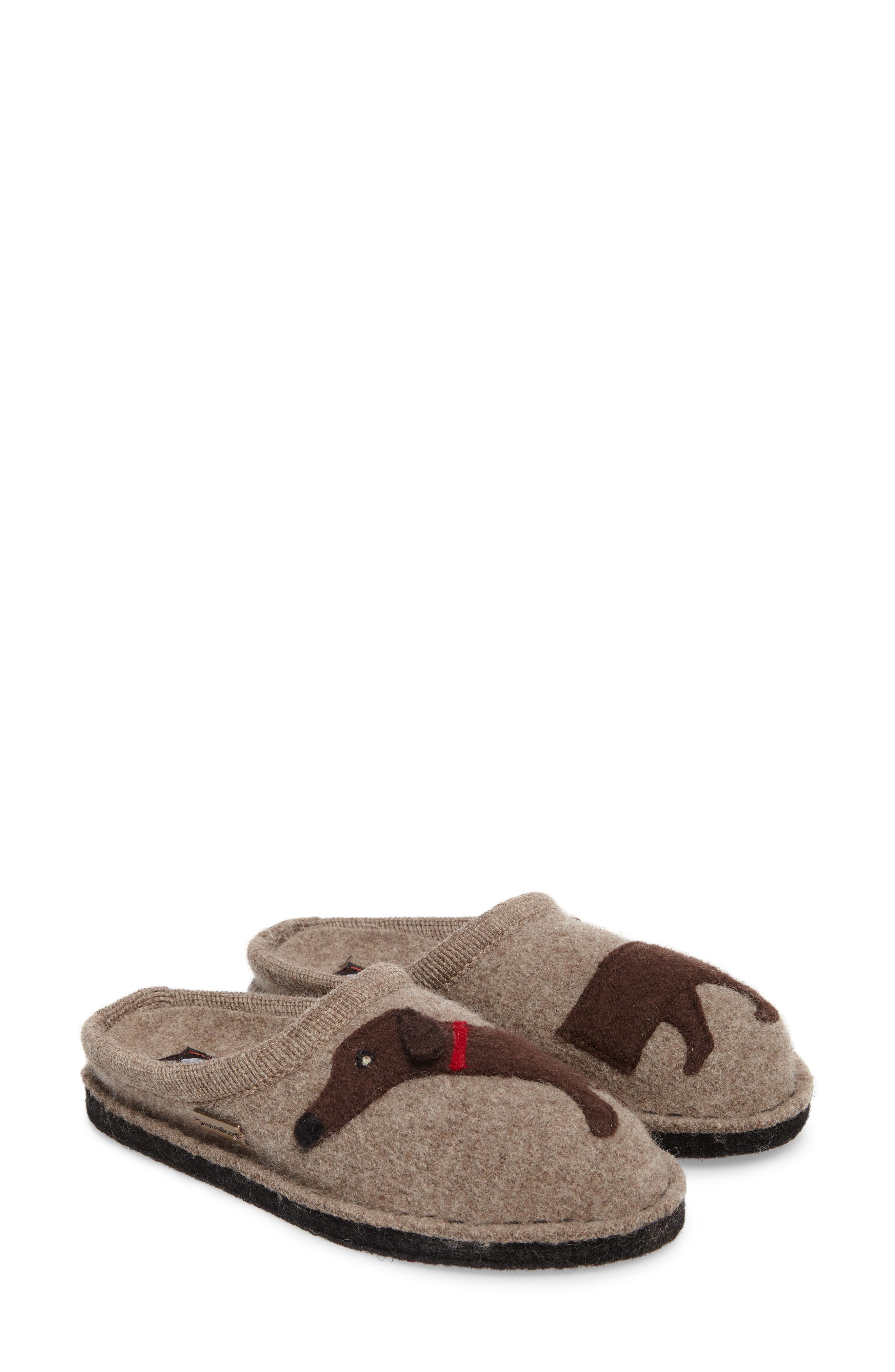 'Doggy' Slipper,                             Alternate thumbnail 3, color,                             EARTH
