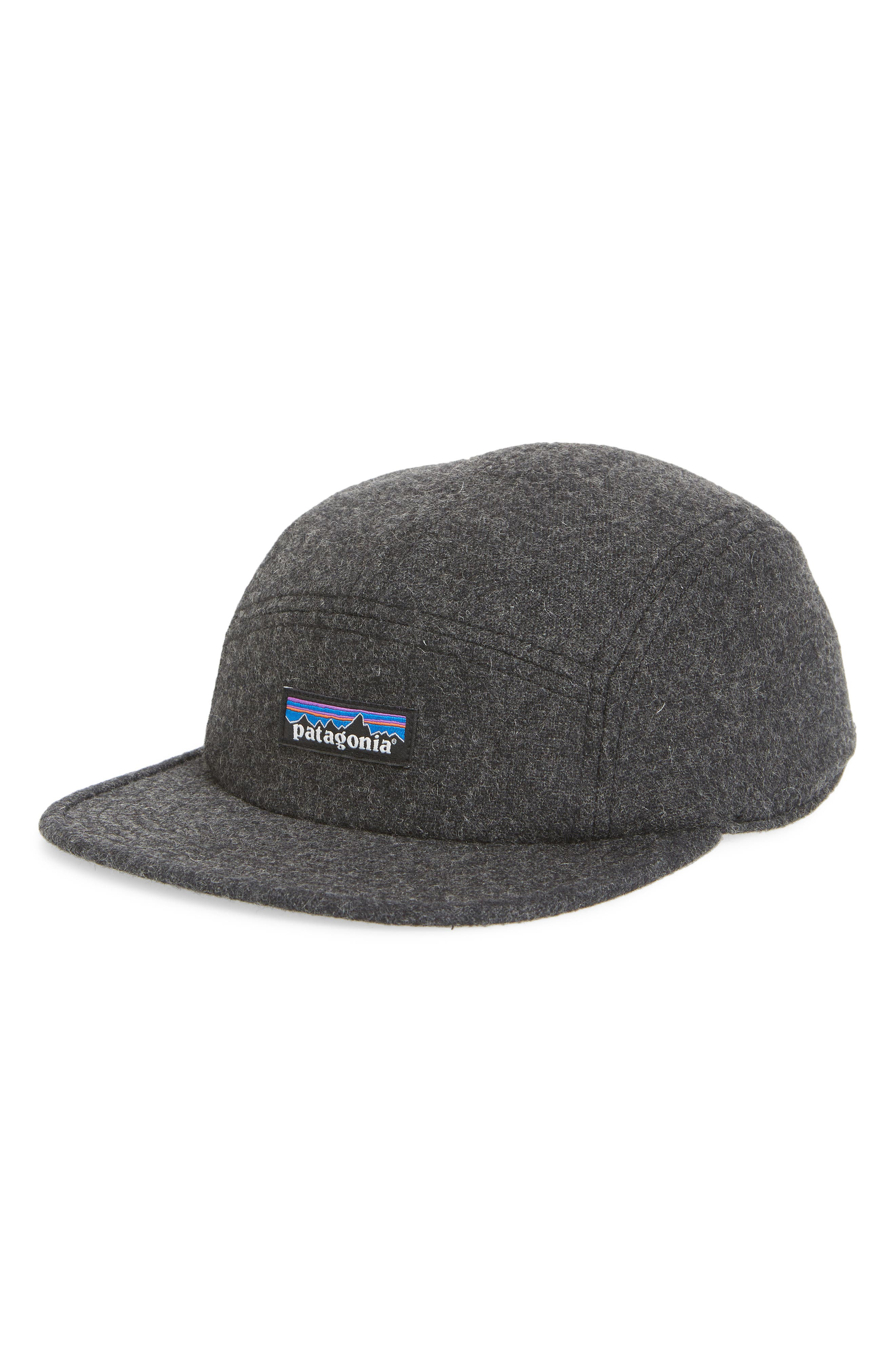 182b89bf700 A low-profile five-panel ball cap provides a natural barrier of protection  from the rain in a dense