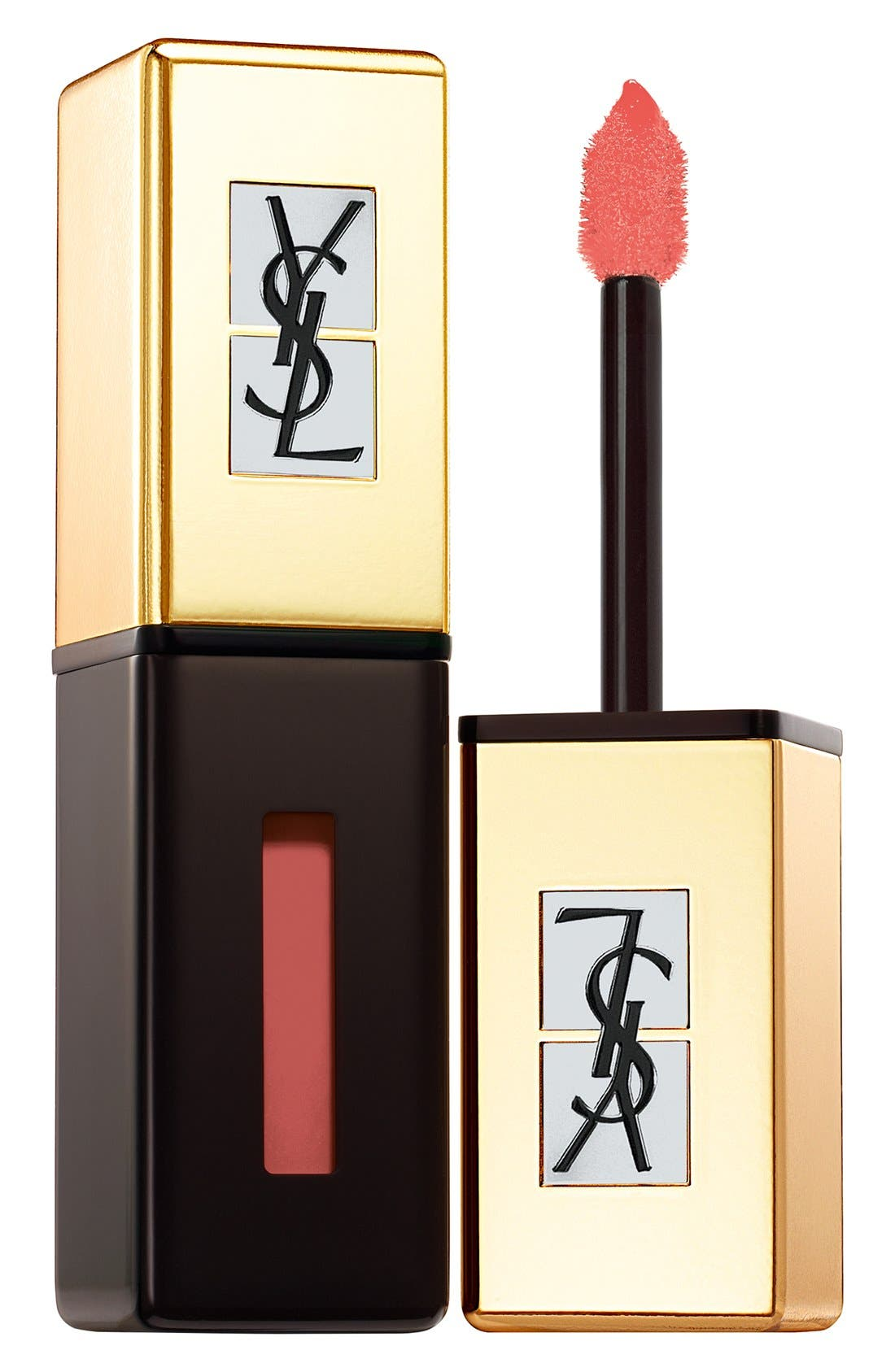 Yves Saint Laurent Pop Water - Vernis A Levres Glossy Stain - 208 Wet Nude