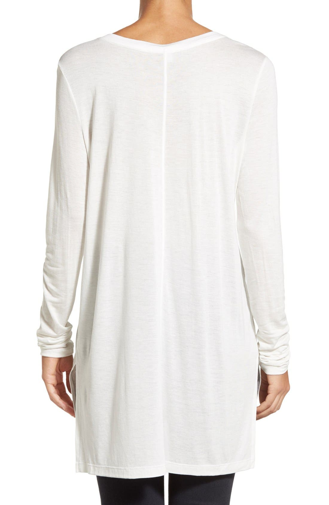 Long Sleeve Lightweight Tunic,                             Alternate thumbnail 20, color,