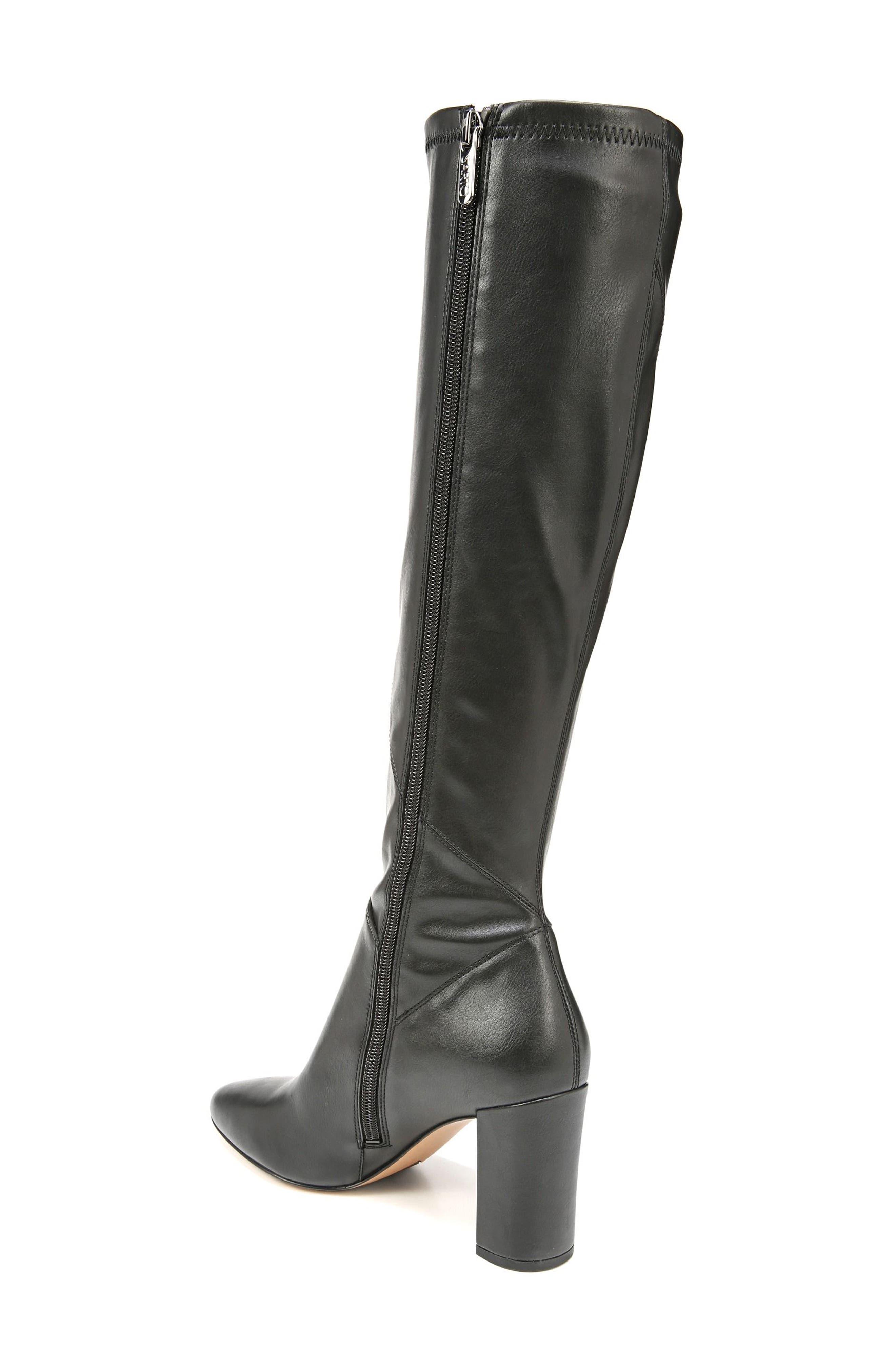 Flavia Knee High Boot,                             Alternate thumbnail 2, color,                             001