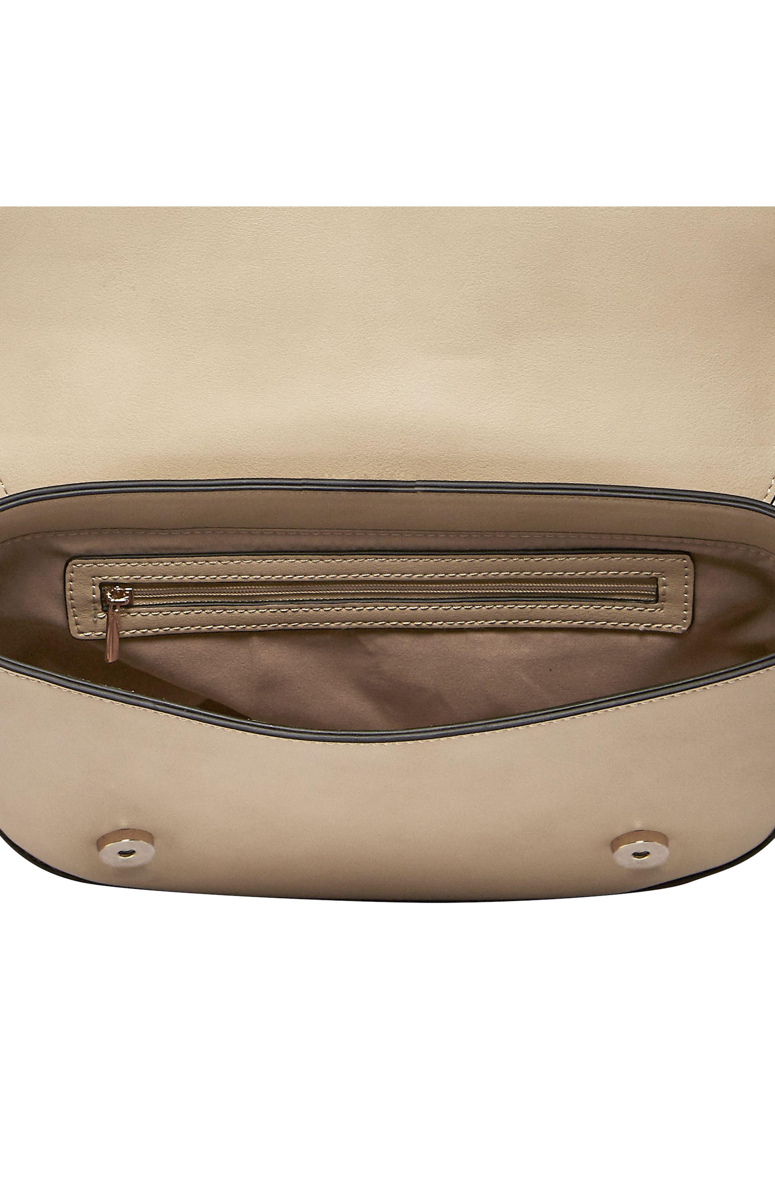 Loved Vegan Leather Crossbody Bag,                             Alternate thumbnail 5, color,