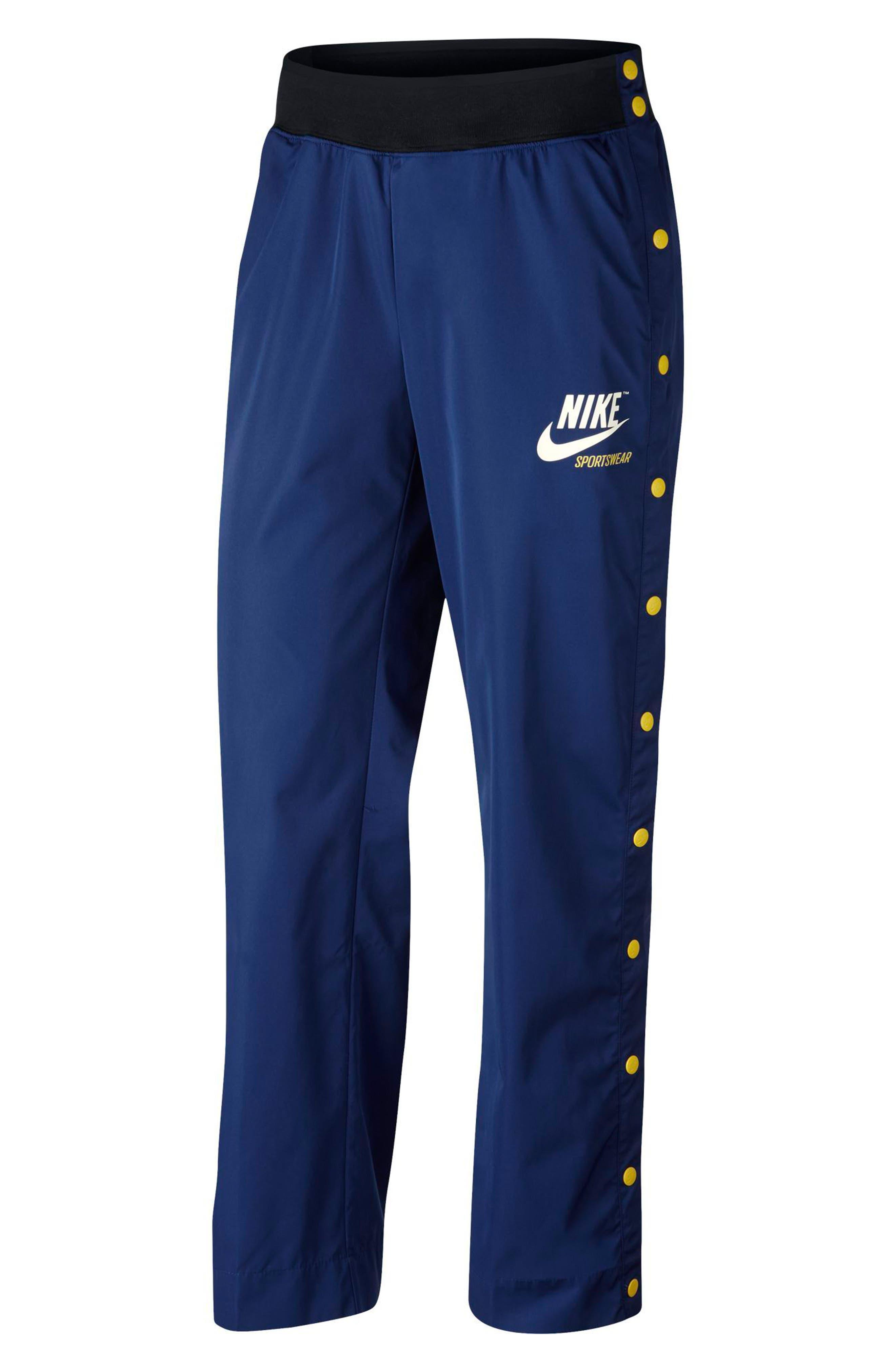 Sportswear Women's Side Snap Pants,                             Main thumbnail 1, color,                             455