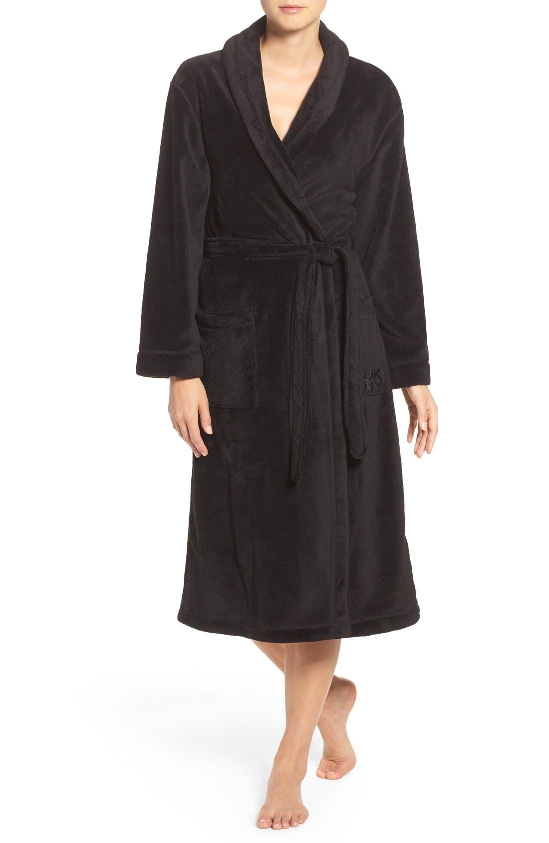 Midi Chenille Robe, Main, color, 001
