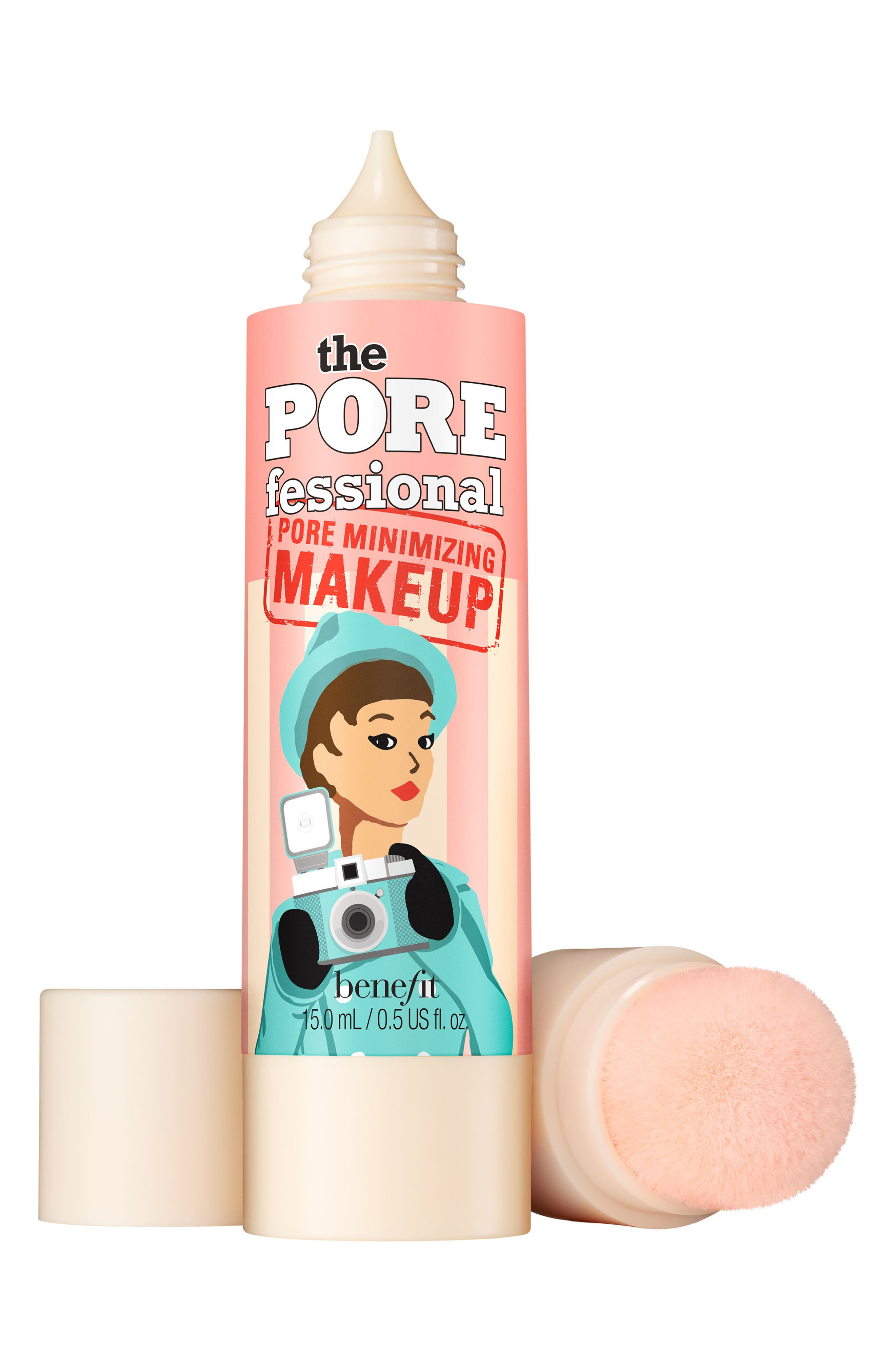 Benefit The POREfessional Pore Minimizing Makeup,                             Main thumbnail 1, color,                             05 MEDIUM DEEP