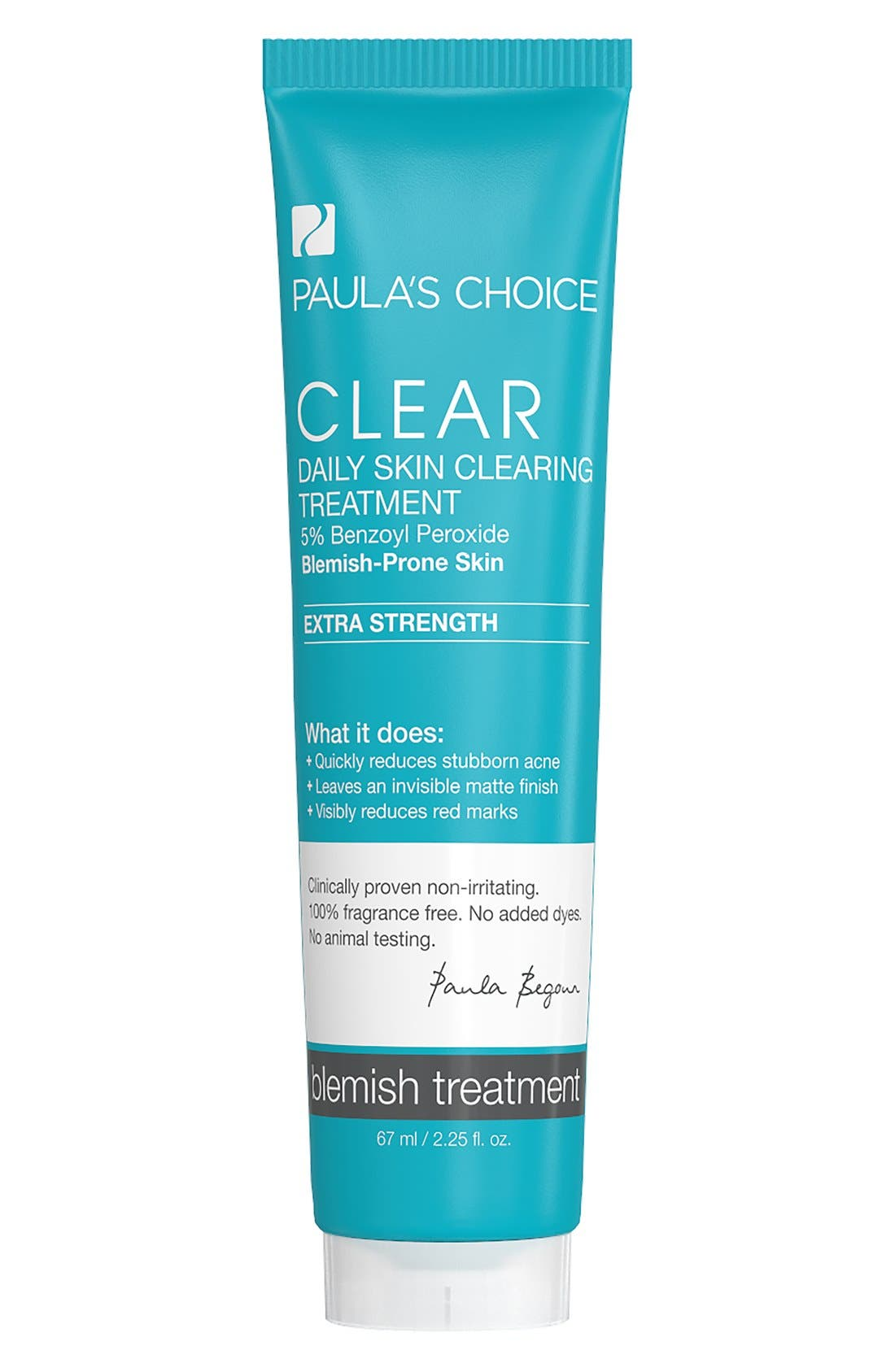 Clear Extra Strength Daily Skin Clearing Treatment,                             Main thumbnail 1, color,                             NO COLOR