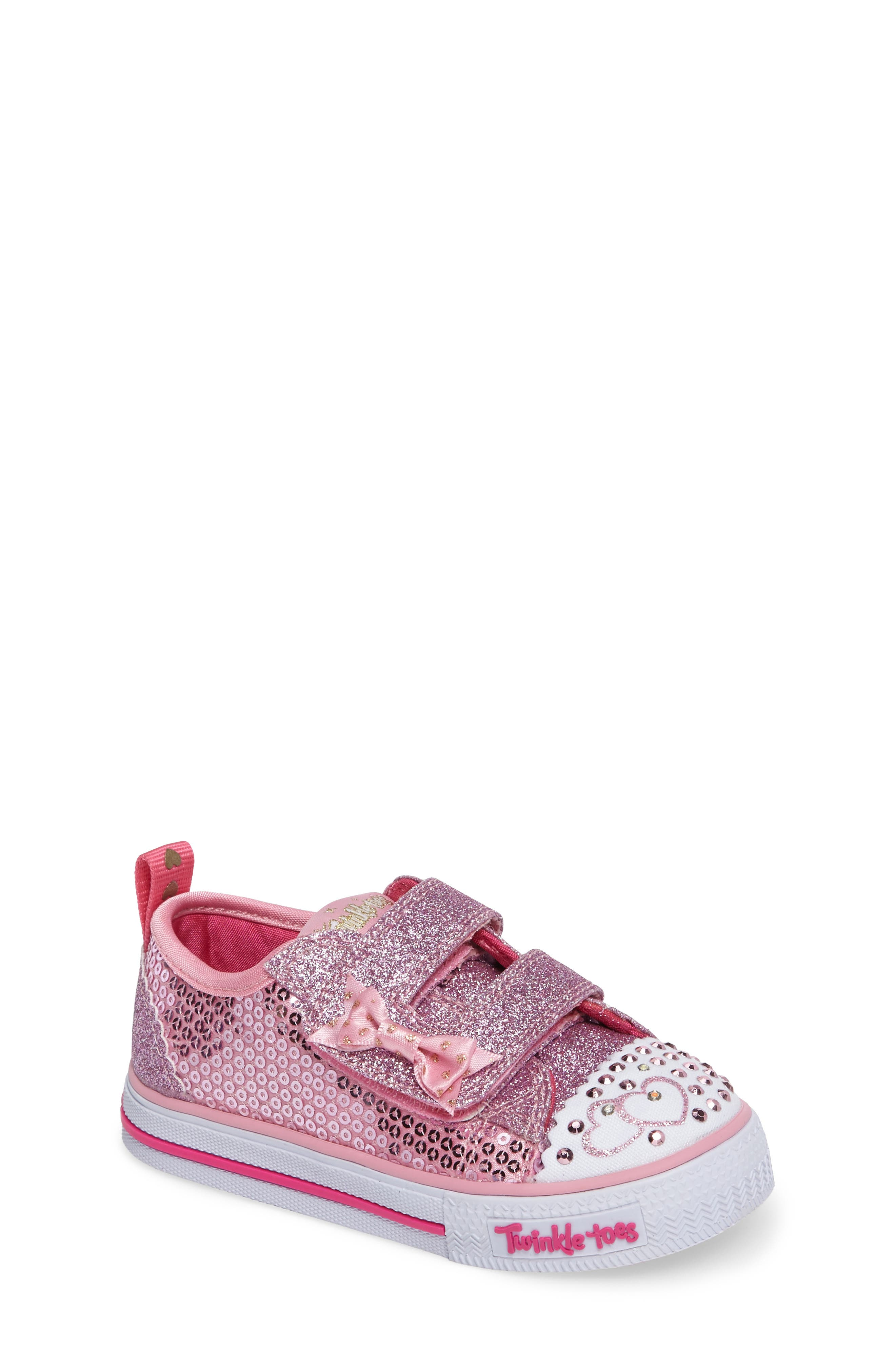 Shuffles - Itsy Bitsy Light-Up Sneaker,                             Main thumbnail 4, color,