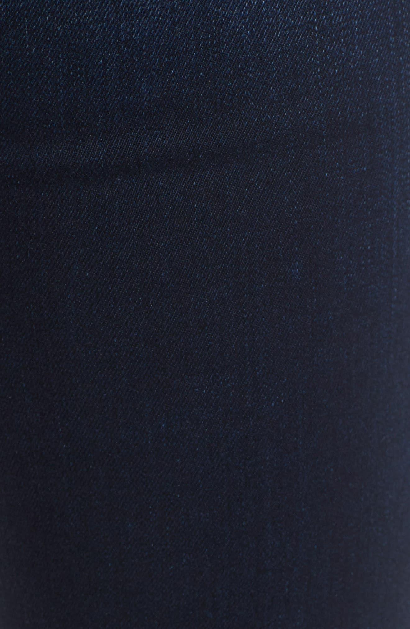 'Collin' Supermodel Skinny Jeans,                             Alternate thumbnail 5, color,                             CREST FALL