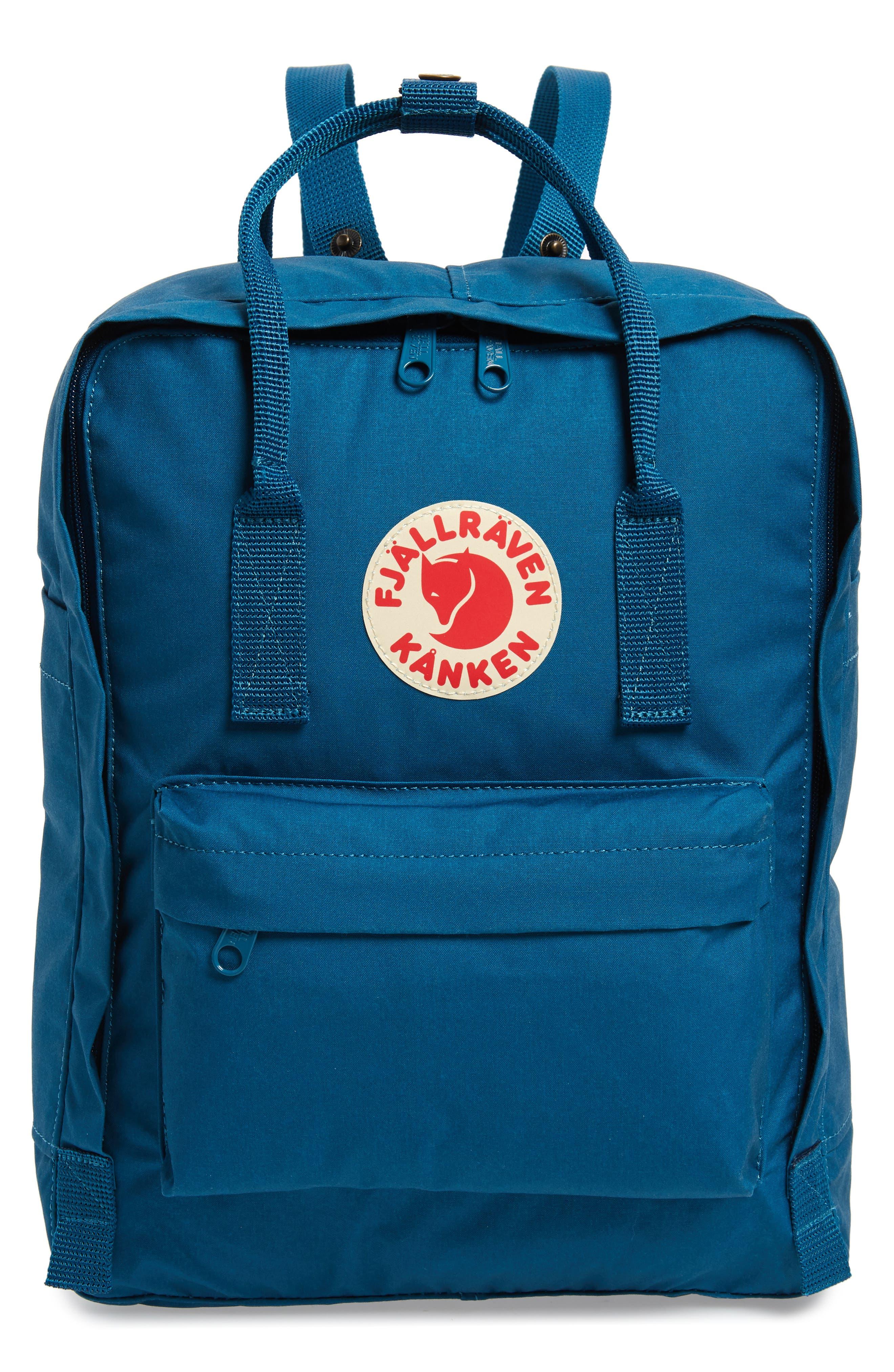 'Kånken' Water Resistant Backpack,                             Main thumbnail 1, color,                             GLACIER GREEN