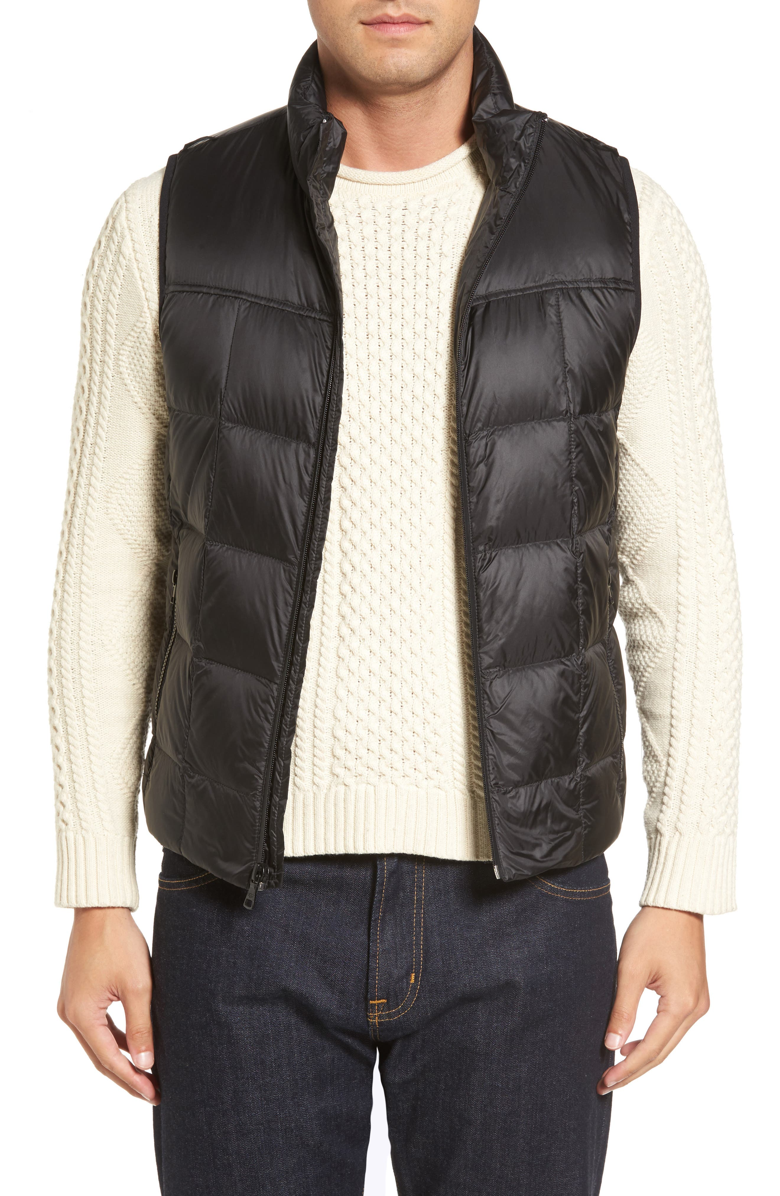 Butte Water-Resistant Down Parka with Genuine Shearling Trim,                             Alternate thumbnail 4, color,                             001