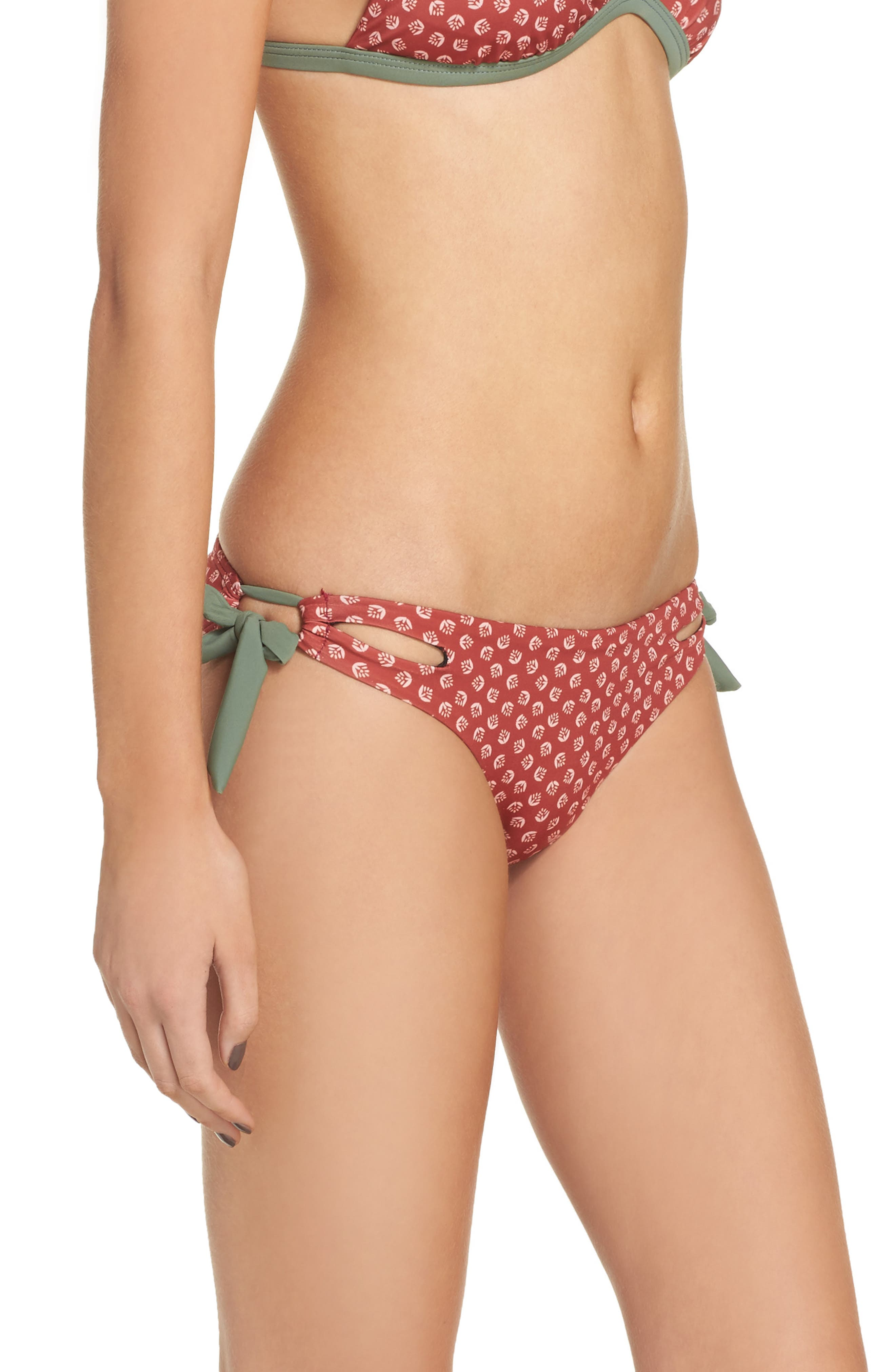 Side Tie Bikini Bottoms,                             Alternate thumbnail 6, color,