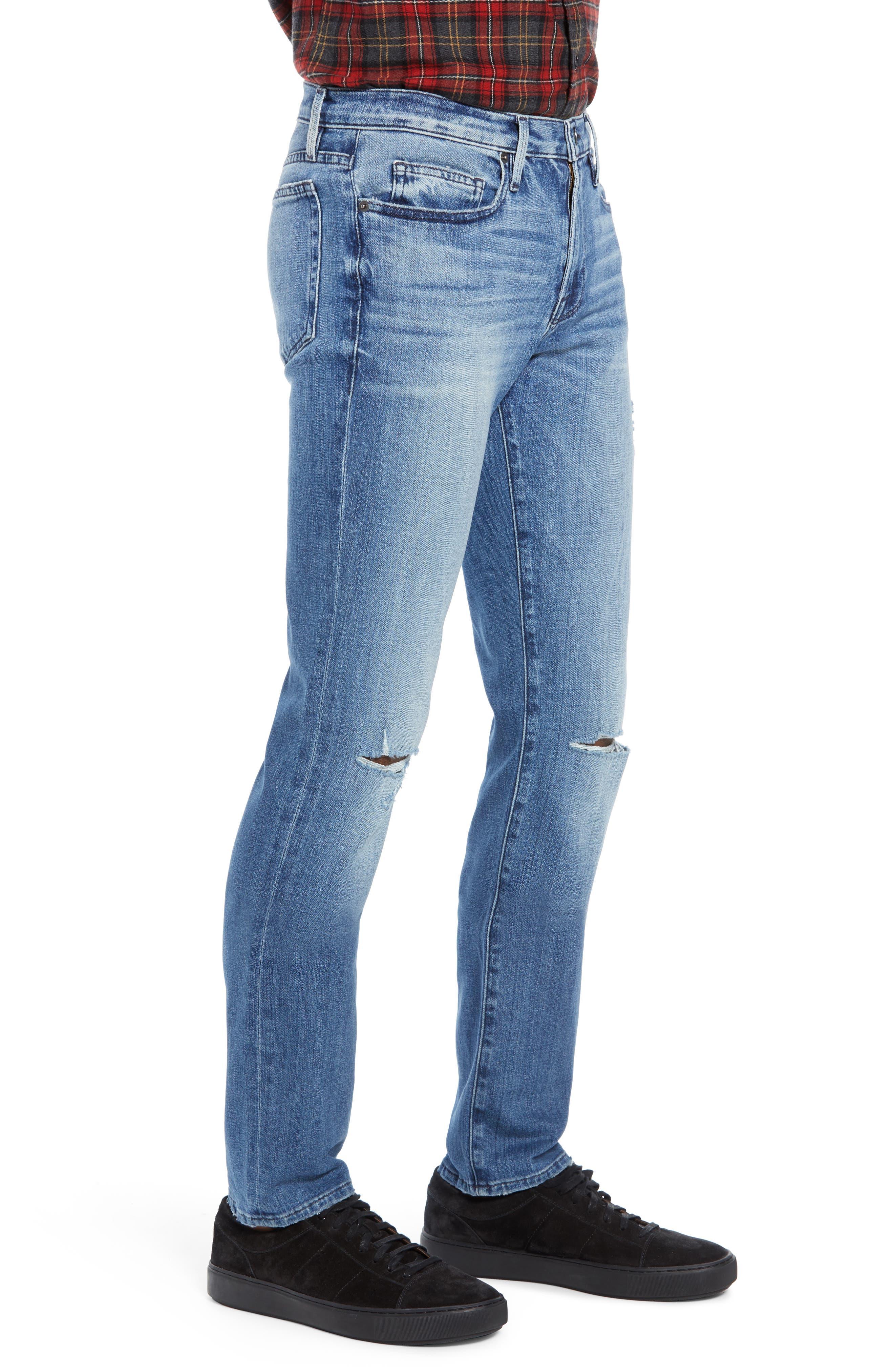 L'Homme Slim Fit Jeans,                             Alternate thumbnail 3, color,                             ARCHES