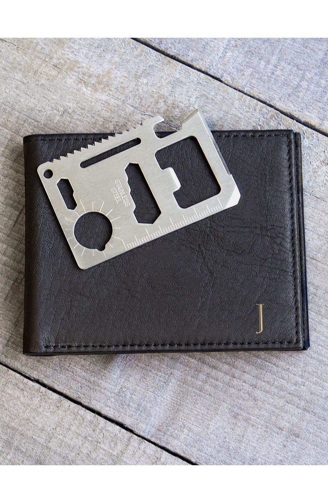 Monogram Bifold Wallet,                             Alternate thumbnail 3, color,                             002