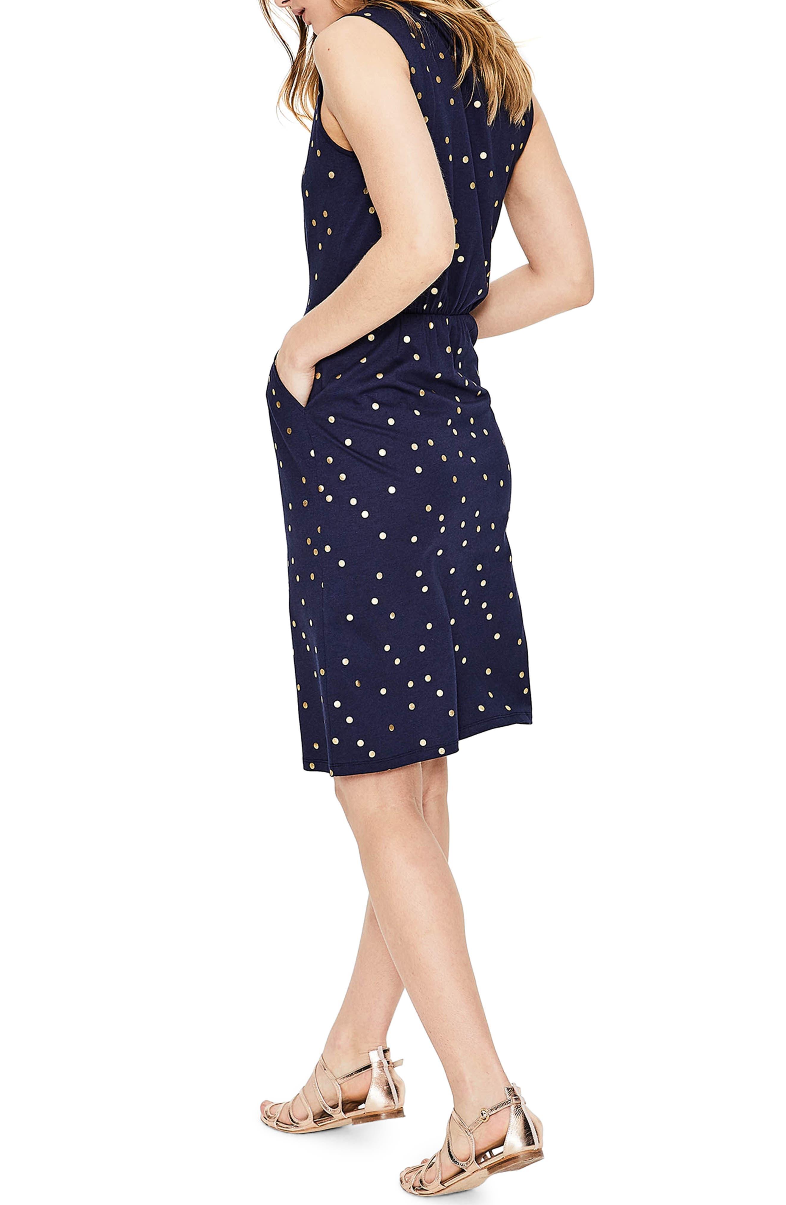 Melinda Metallic Dot Jersey Sheath Dress,                             Alternate thumbnail 2, color,                             414
