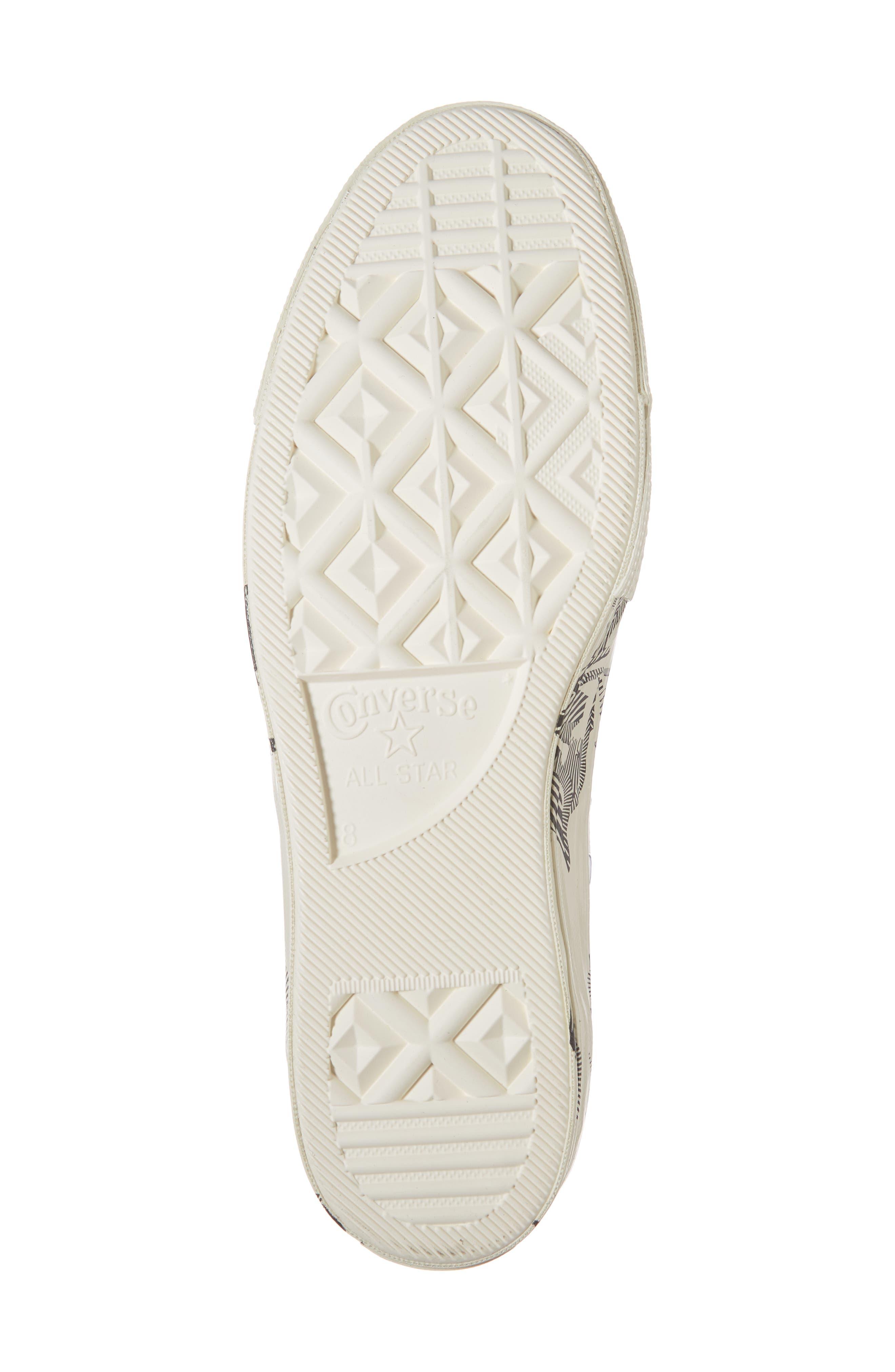 CT 70 Peony Low Top Sneaker,                             Alternate thumbnail 6, color,                             001