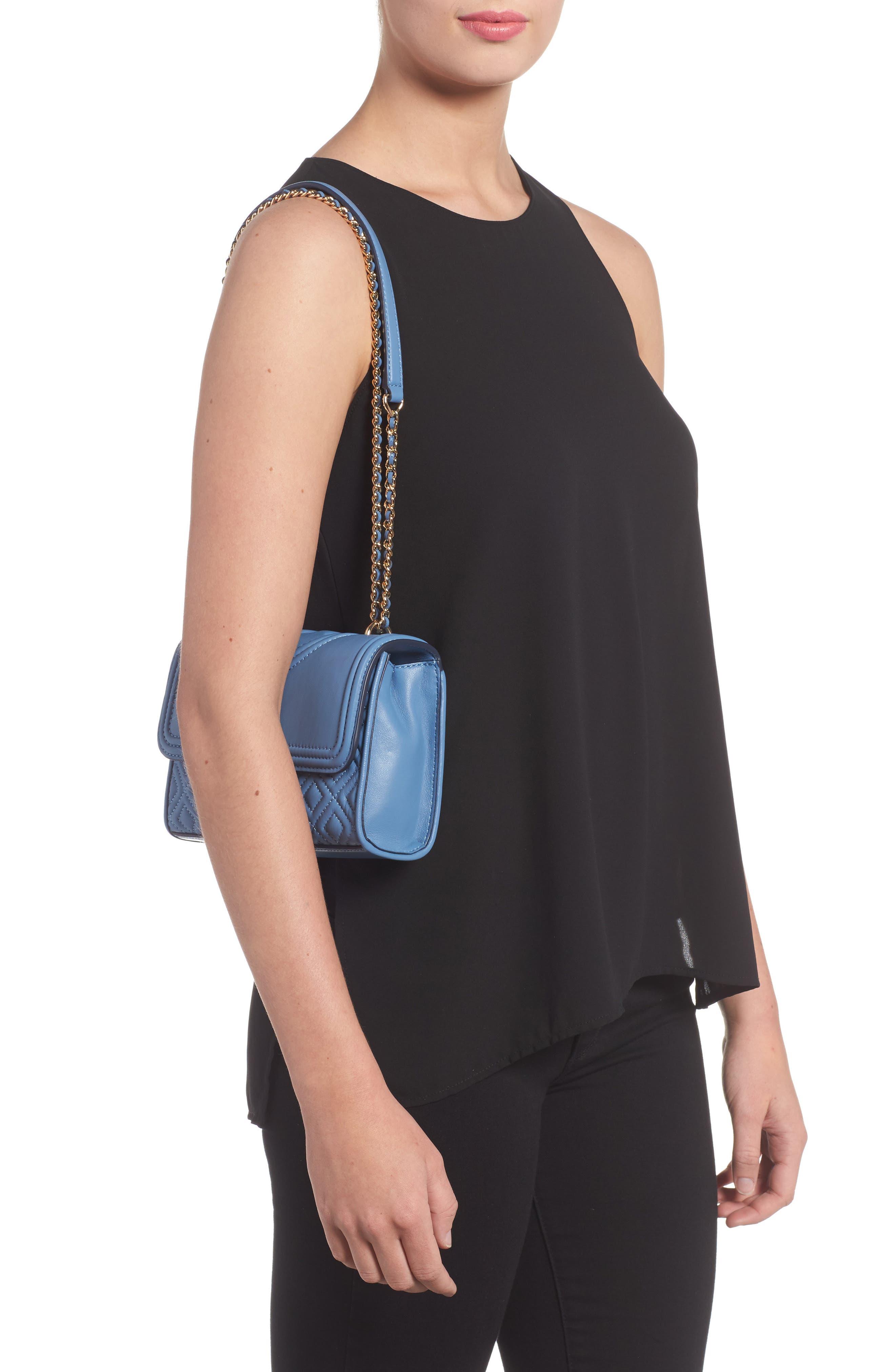 Fleming Convertible Leather Shoulder Bag,                             Alternate thumbnail 2, color,                             401