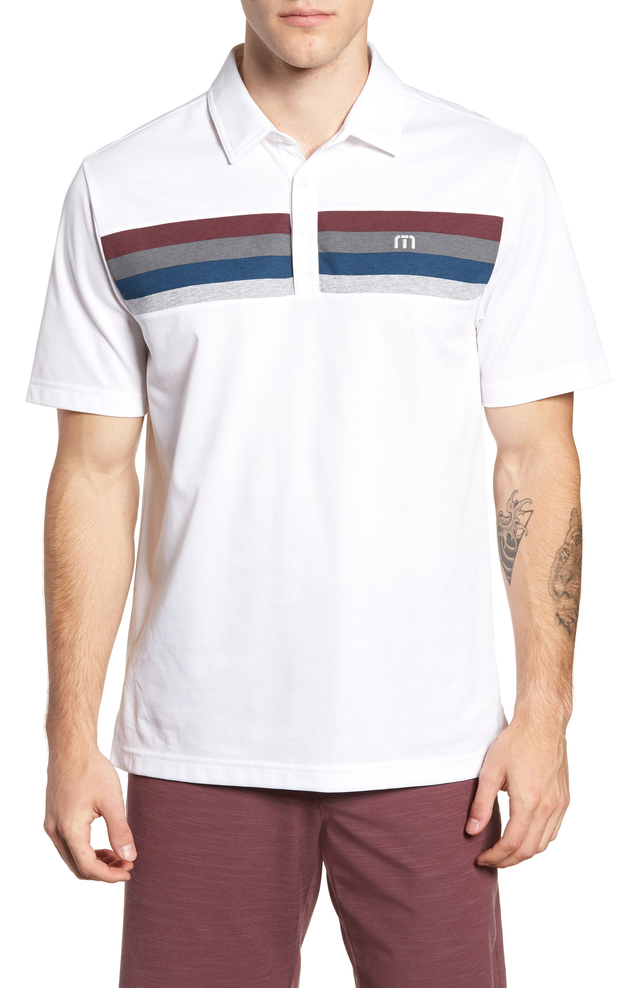 Expat Polo,                         Main,                         color, WHITE