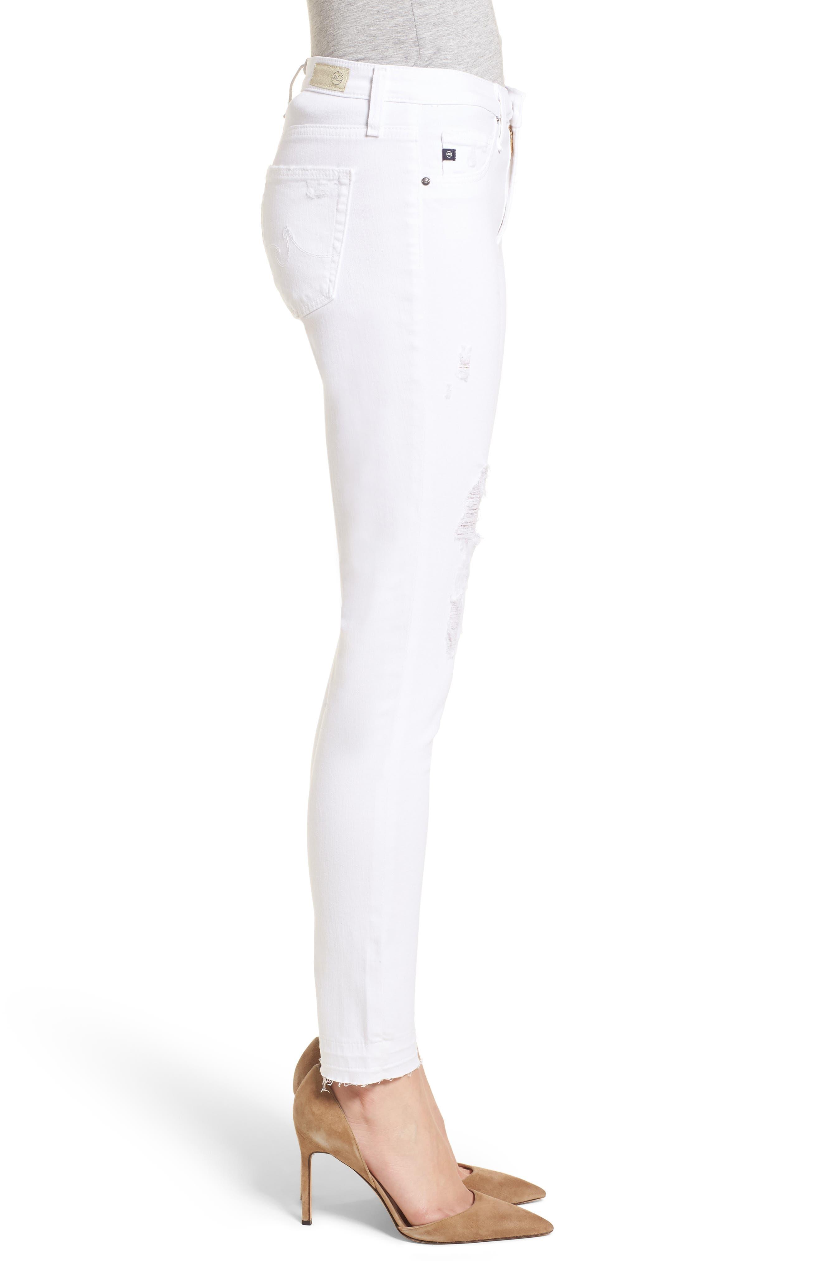 The Legging Ankle Super Skinny Jeans,                             Alternate thumbnail 3, color,