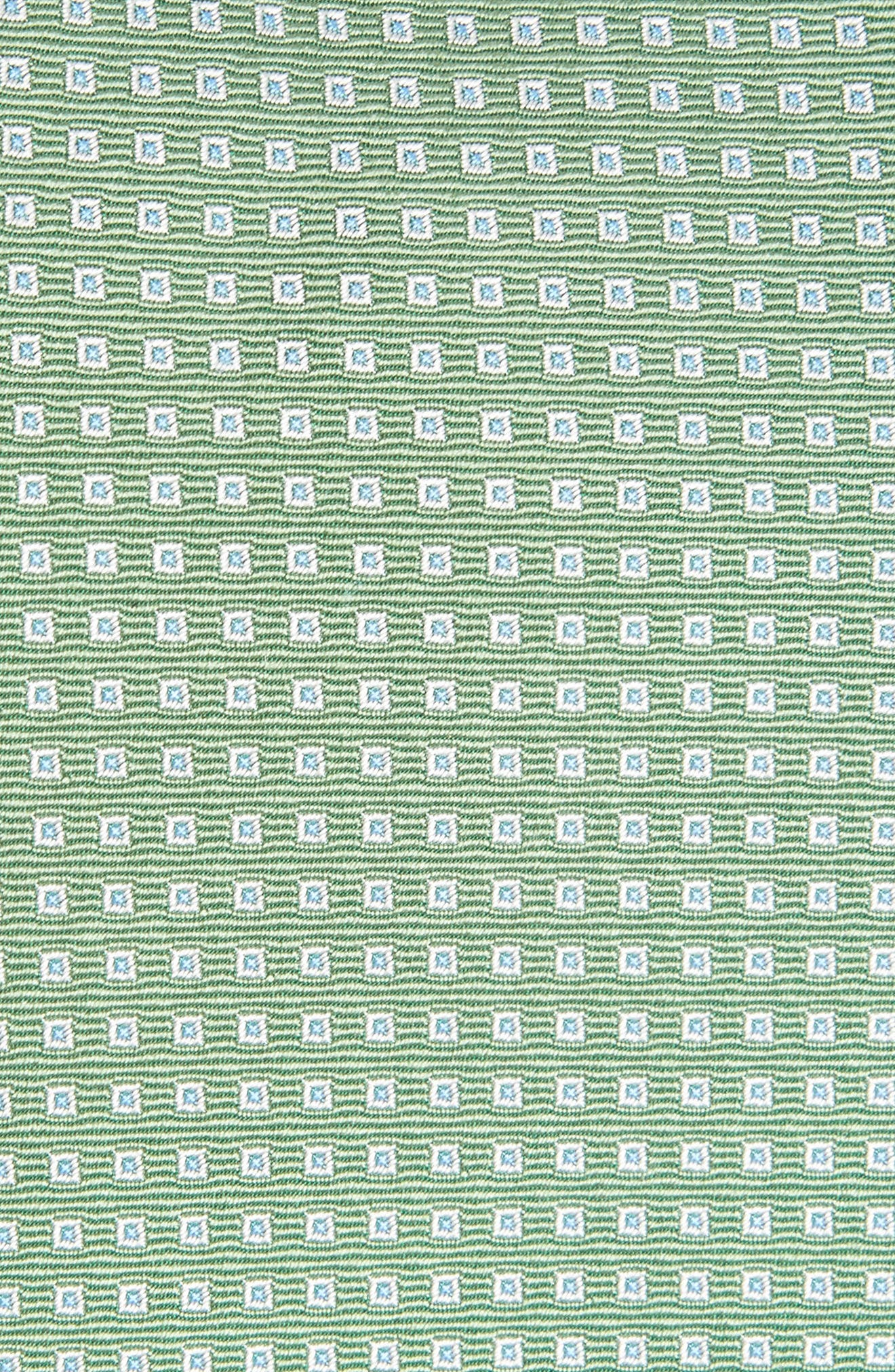 Geometric Silk Tie,                             Alternate thumbnail 2, color,                             310