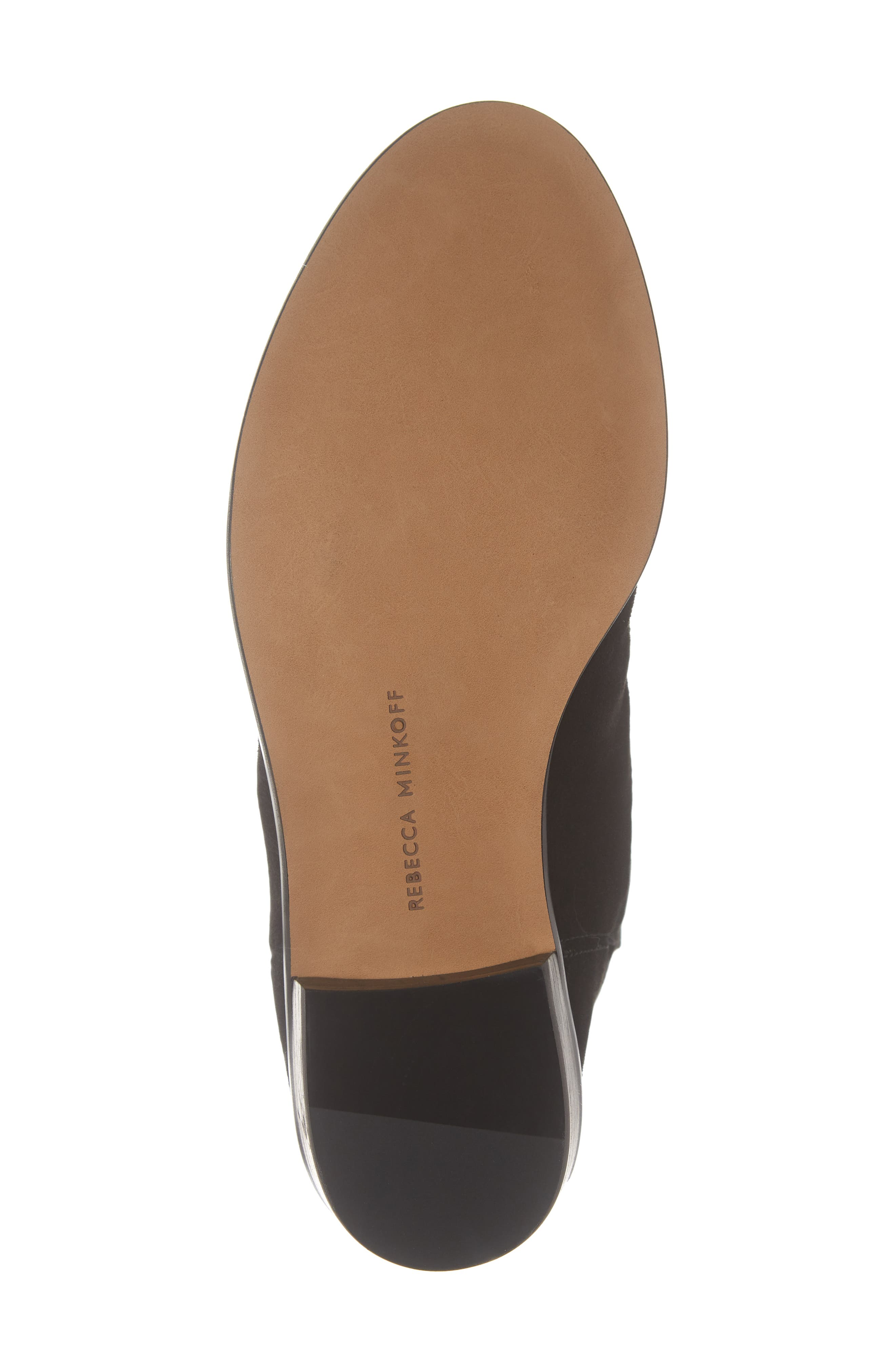 Chasidy Bootie,                             Alternate thumbnail 6, color,                             BLACK SUEDE