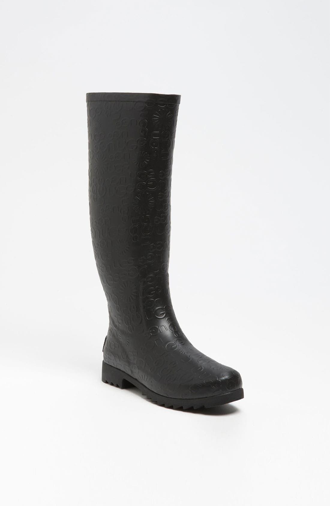 Australia 'Wilshire Logo' Tall Boot, Main, color, 001