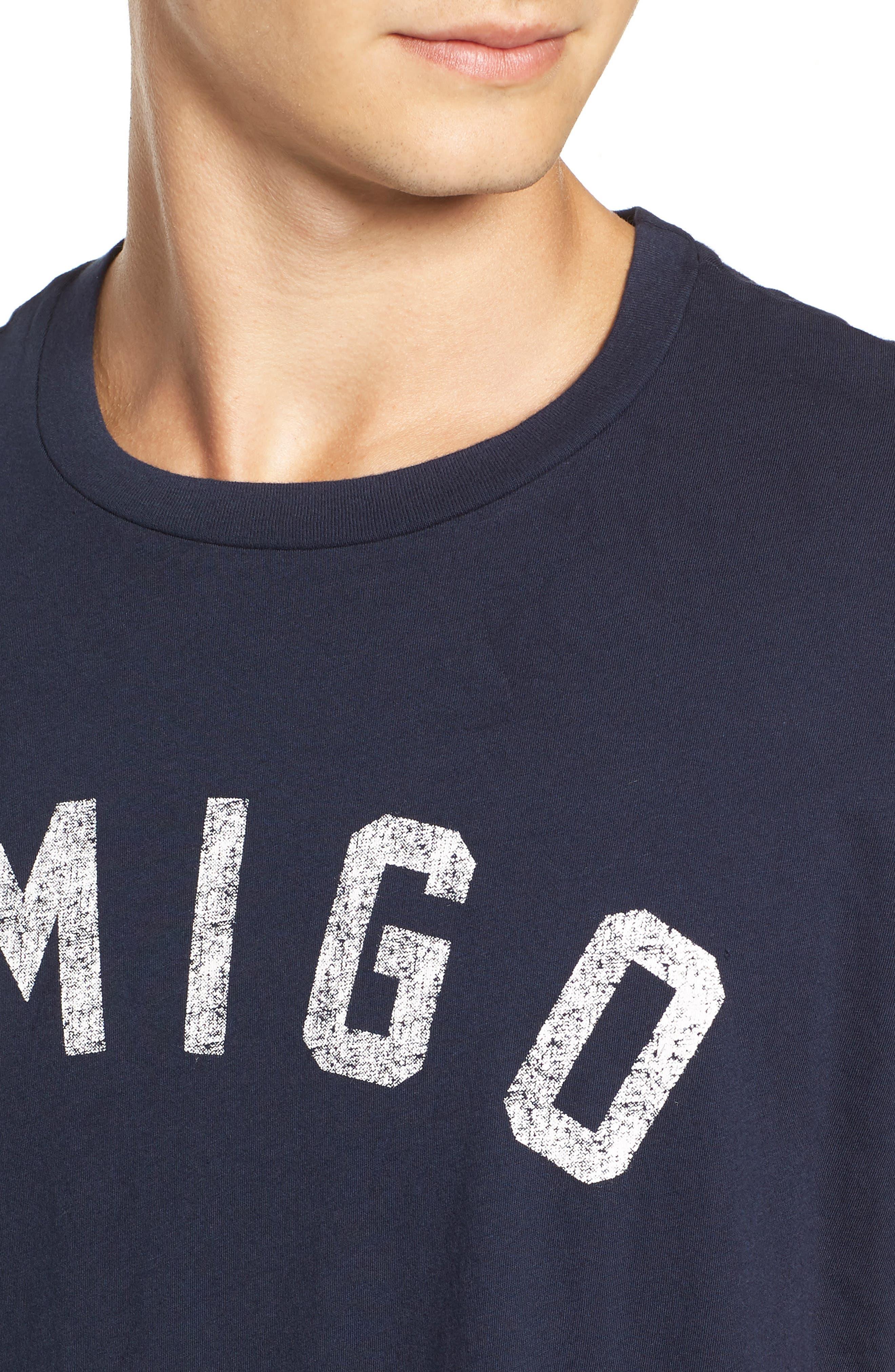 Amigo Graphic T-Shirt,                             Alternate thumbnail 4, color,                             400